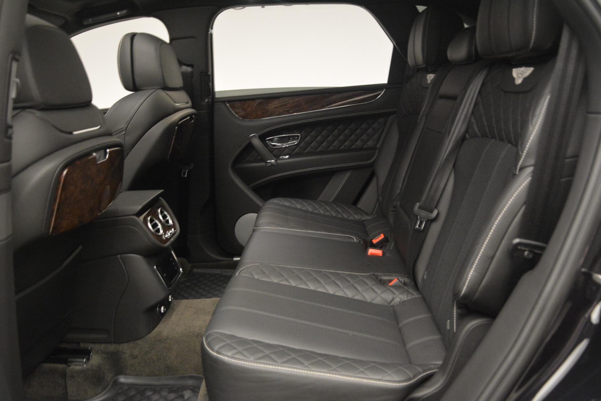Used 2017 Bentley Bentayga W12 For Sale In Westport, CT 3239_p23