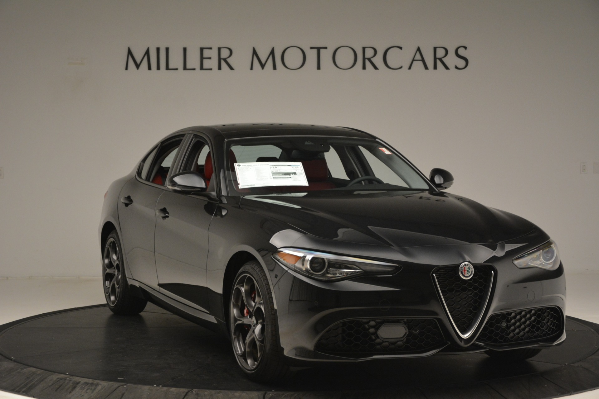 New 2019 Alfa Romeo Giulia Ti Sport Q4 For Sale In Westport, CT 3243_p11