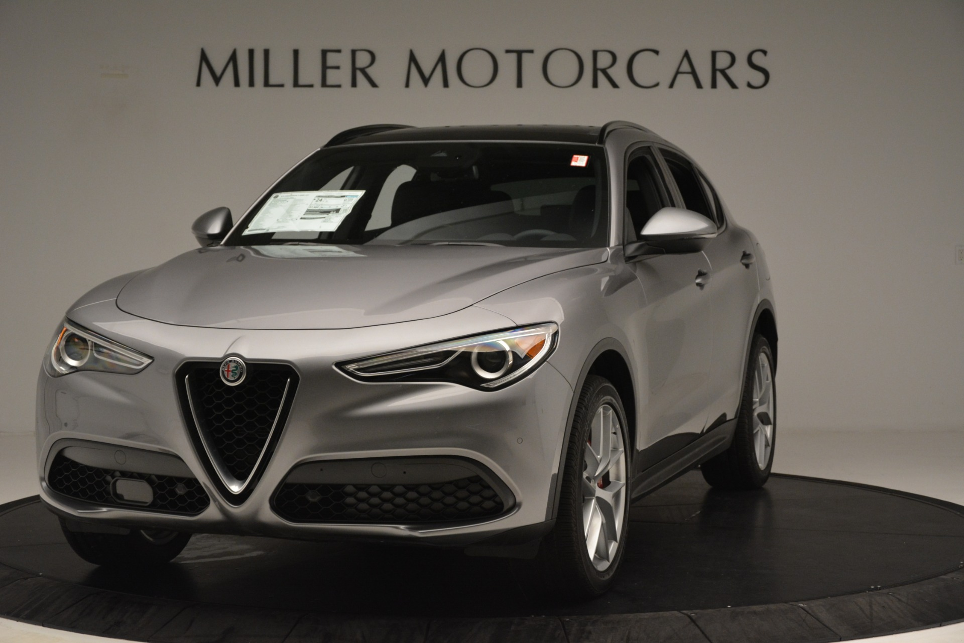 New 2019 Alfa Romeo Stelvio Ti Sport Q4 For Sale In Westport, CT 3250_main