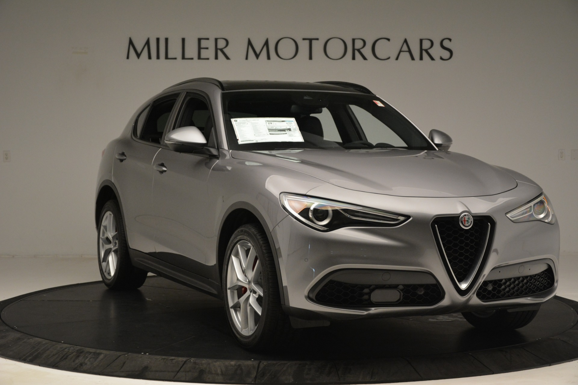 New 2019 Alfa Romeo Stelvio Ti Sport Q4 For Sale In Westport, CT 3250_p11