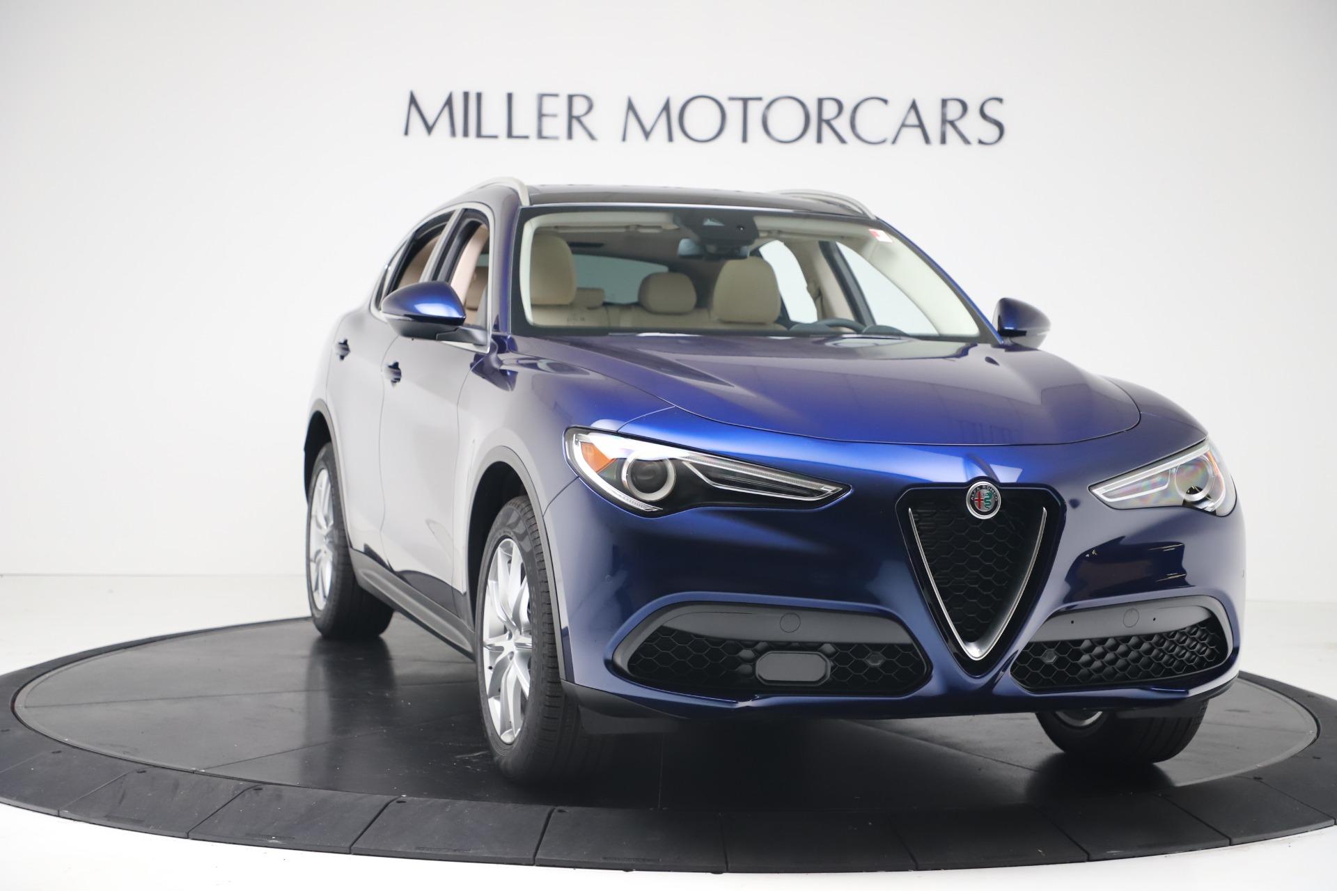 New 2019 Alfa Romeo Stelvio Ti Lusso Q4 For Sale In Westport, CT 3259_p11