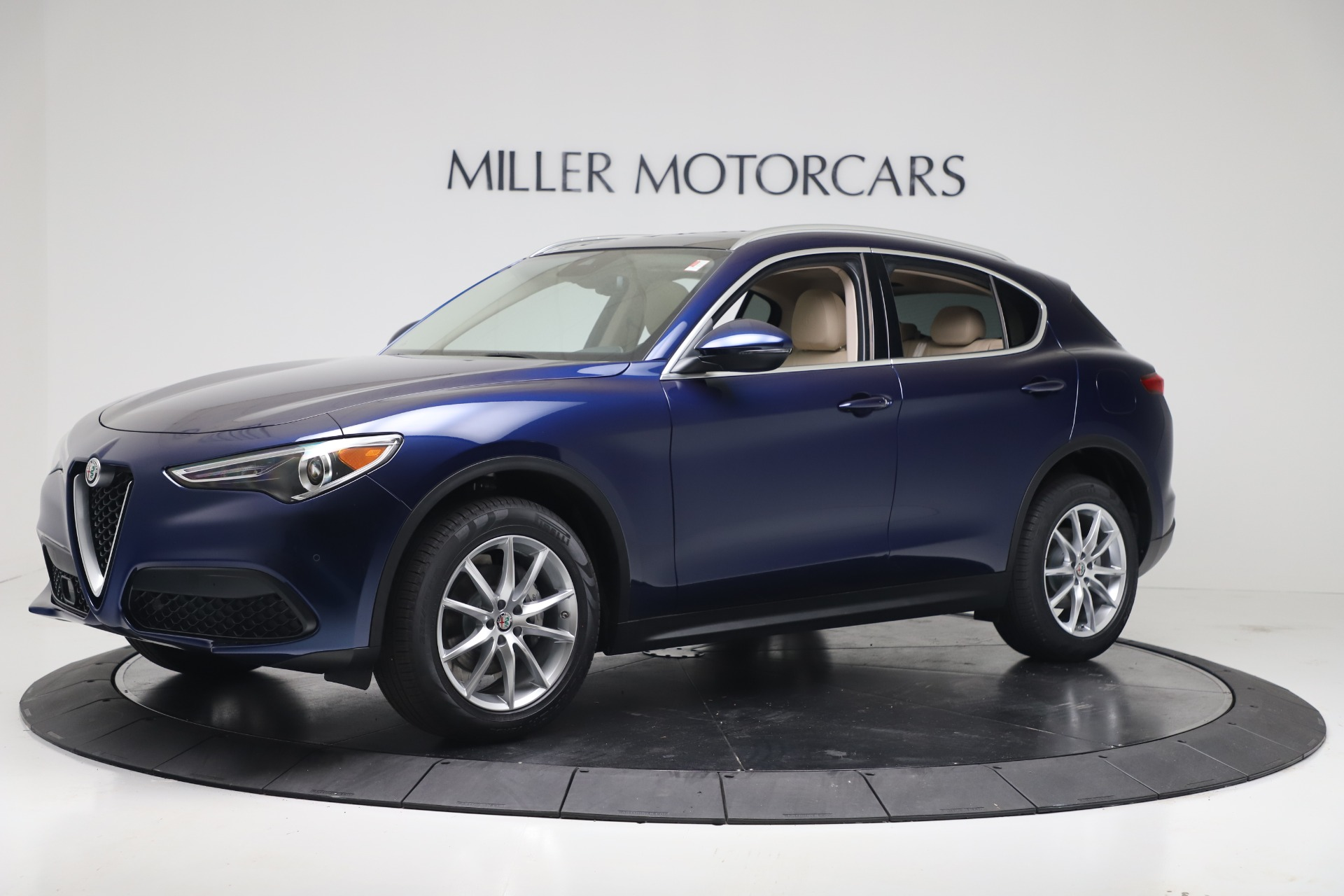 New 2019 Alfa Romeo Stelvio Ti Lusso Q4 For Sale In Westport, CT 3259_p2