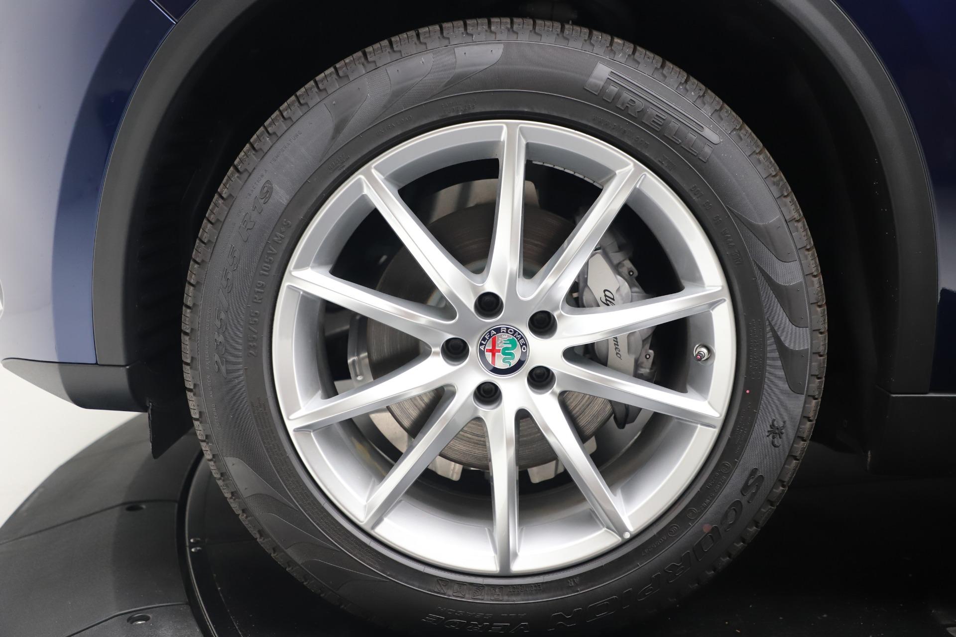 New 2019 Alfa Romeo Stelvio Ti Lusso Q4 For Sale In Westport, CT 3259_p30