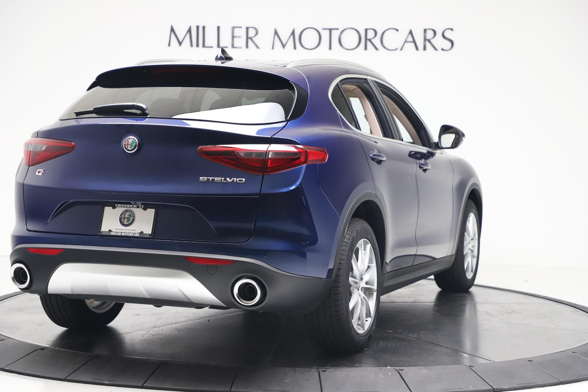 New 2019 Alfa Romeo Stelvio Ti Lusso Q4 For Sale In Westport, CT 3259_p7
