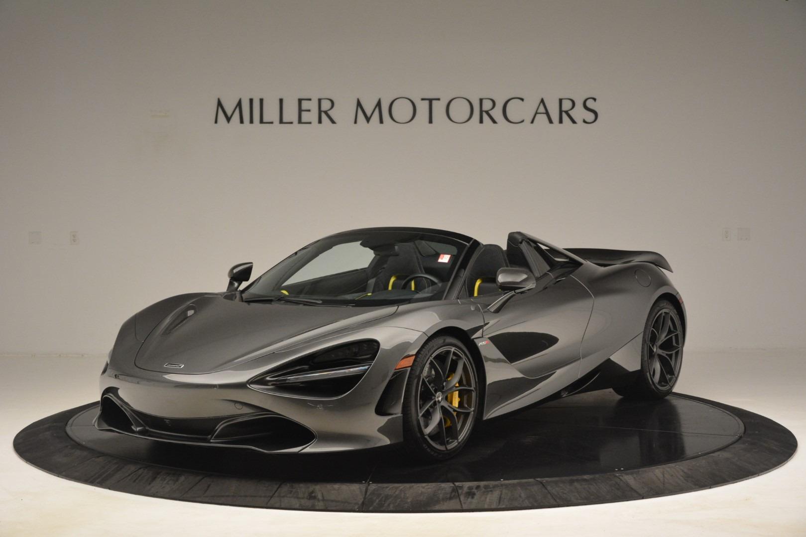 New 2020 McLaren 720S Spider Convertible For Sale In Westport, CT 3266_main