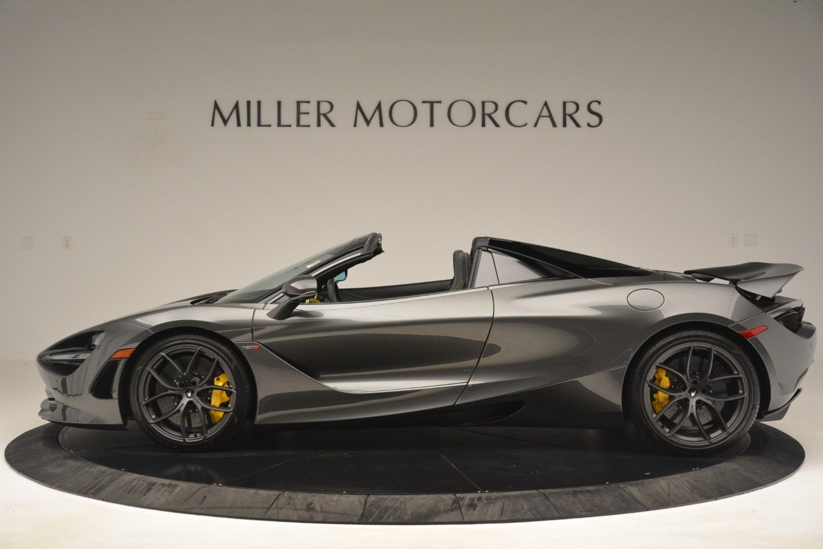 New 2020 McLaren 720S Spider Convertible For Sale In Westport, CT 3266_p2