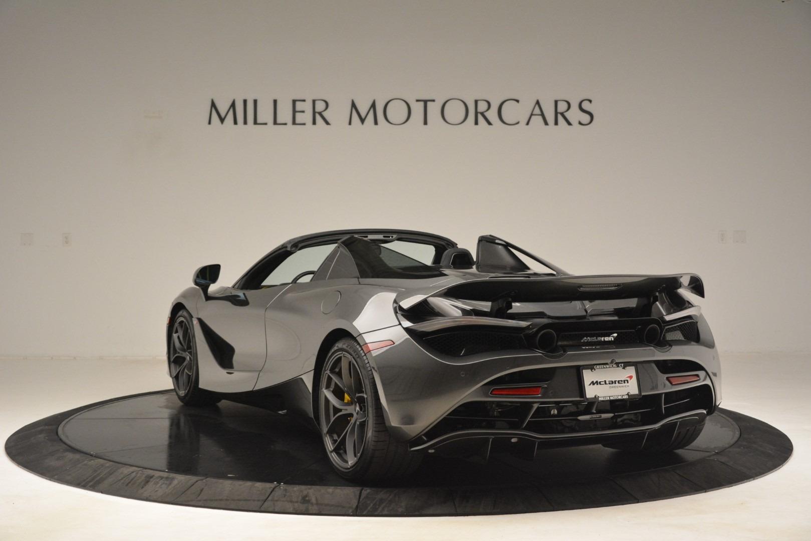 New 2020 McLaren 720S Spider Convertible For Sale In Westport, CT 3266_p4