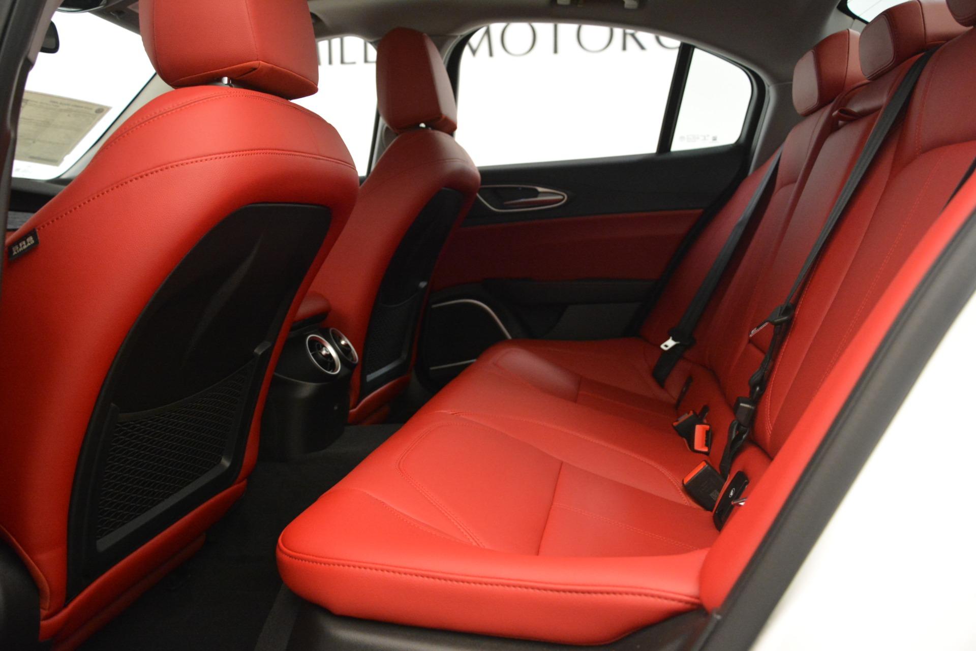 New 2019 Alfa Romeo Giulia Q4 For Sale In Westport, CT 3273_p19