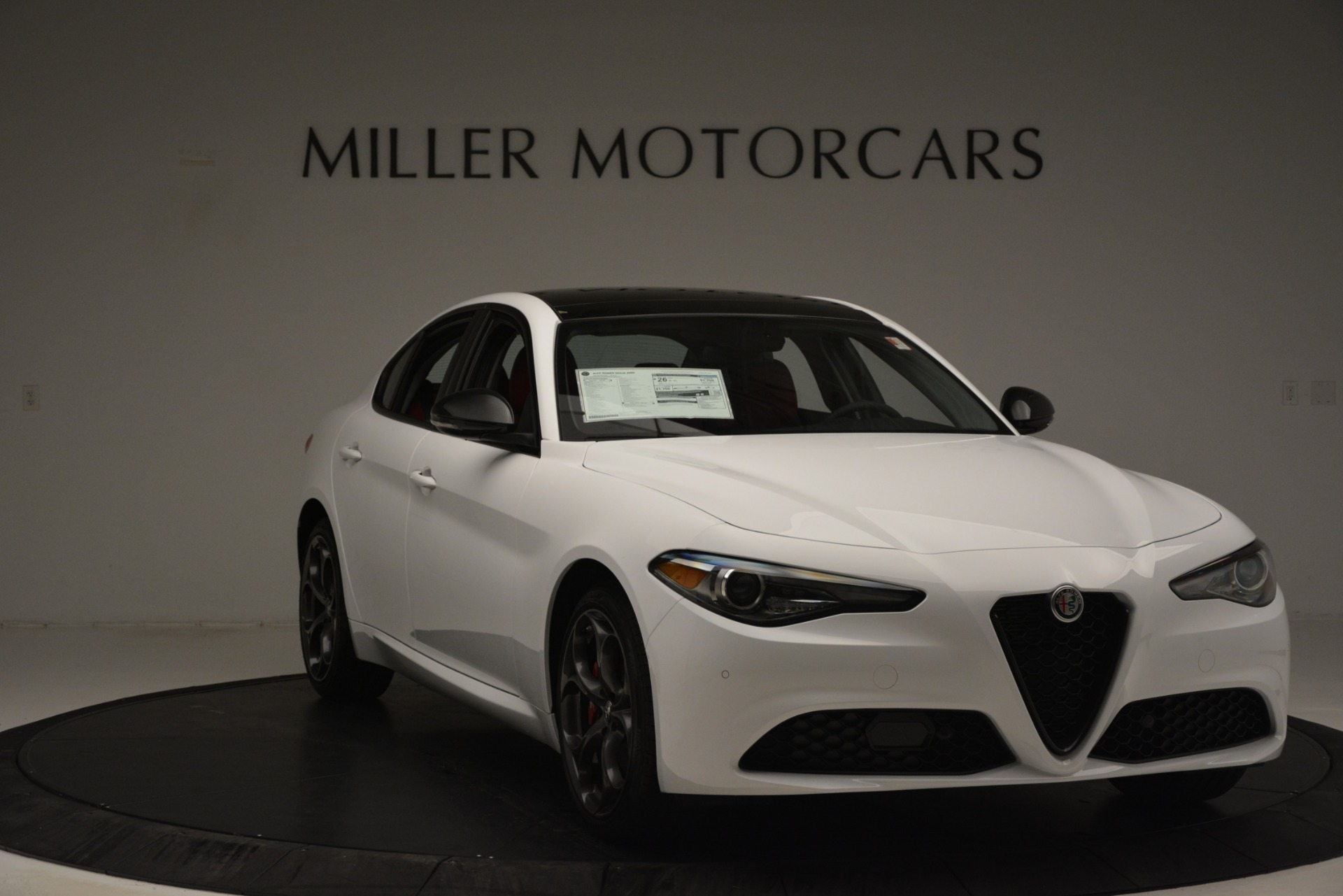 New 2019 Alfa Romeo Giulia Q4 For Sale In Westport, CT 3279_p11