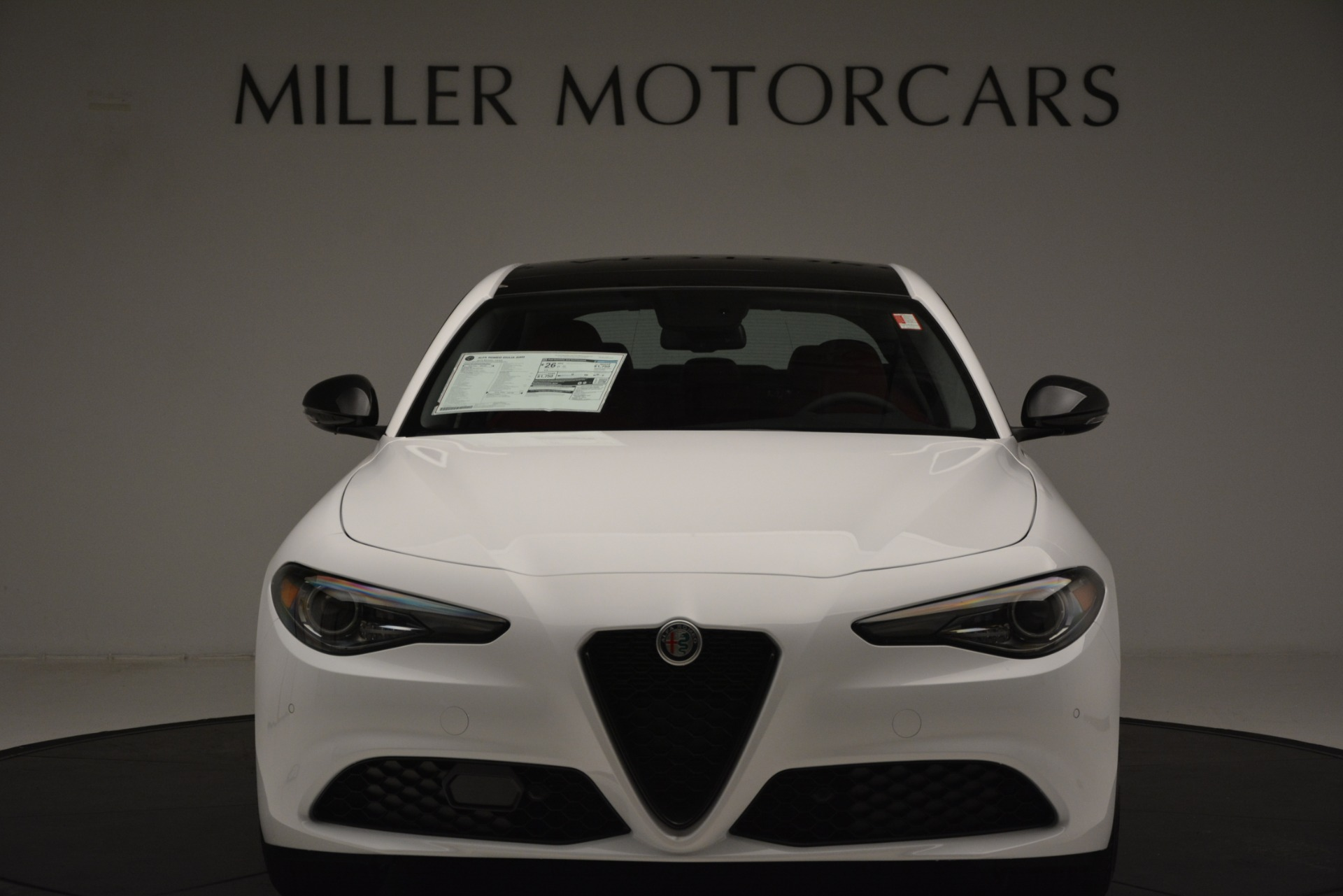 New 2019 Alfa Romeo Giulia Q4 For Sale In Westport, CT 3279_p12