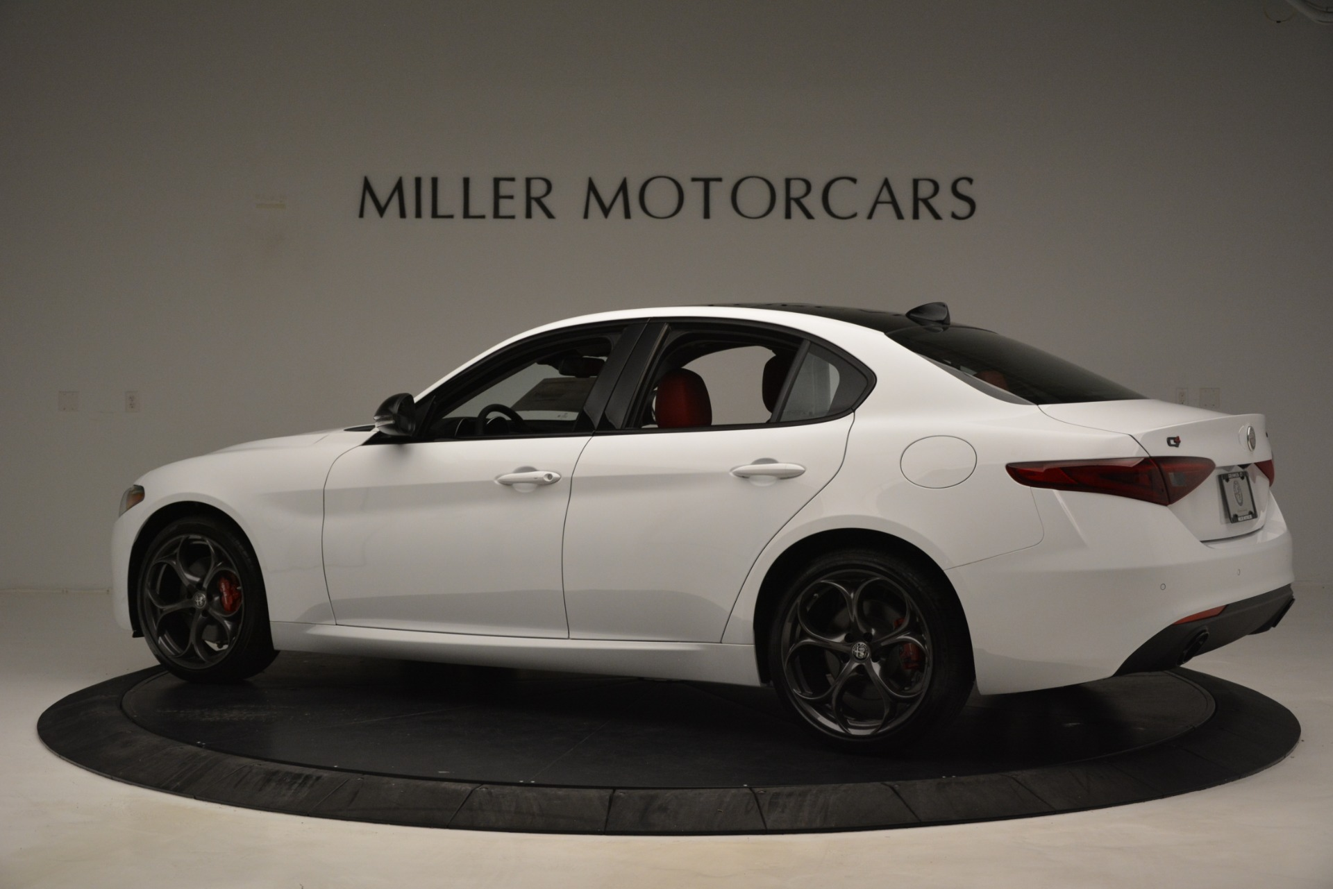 New 2019 Alfa Romeo Giulia Q4 For Sale In Westport, CT 3279_p4