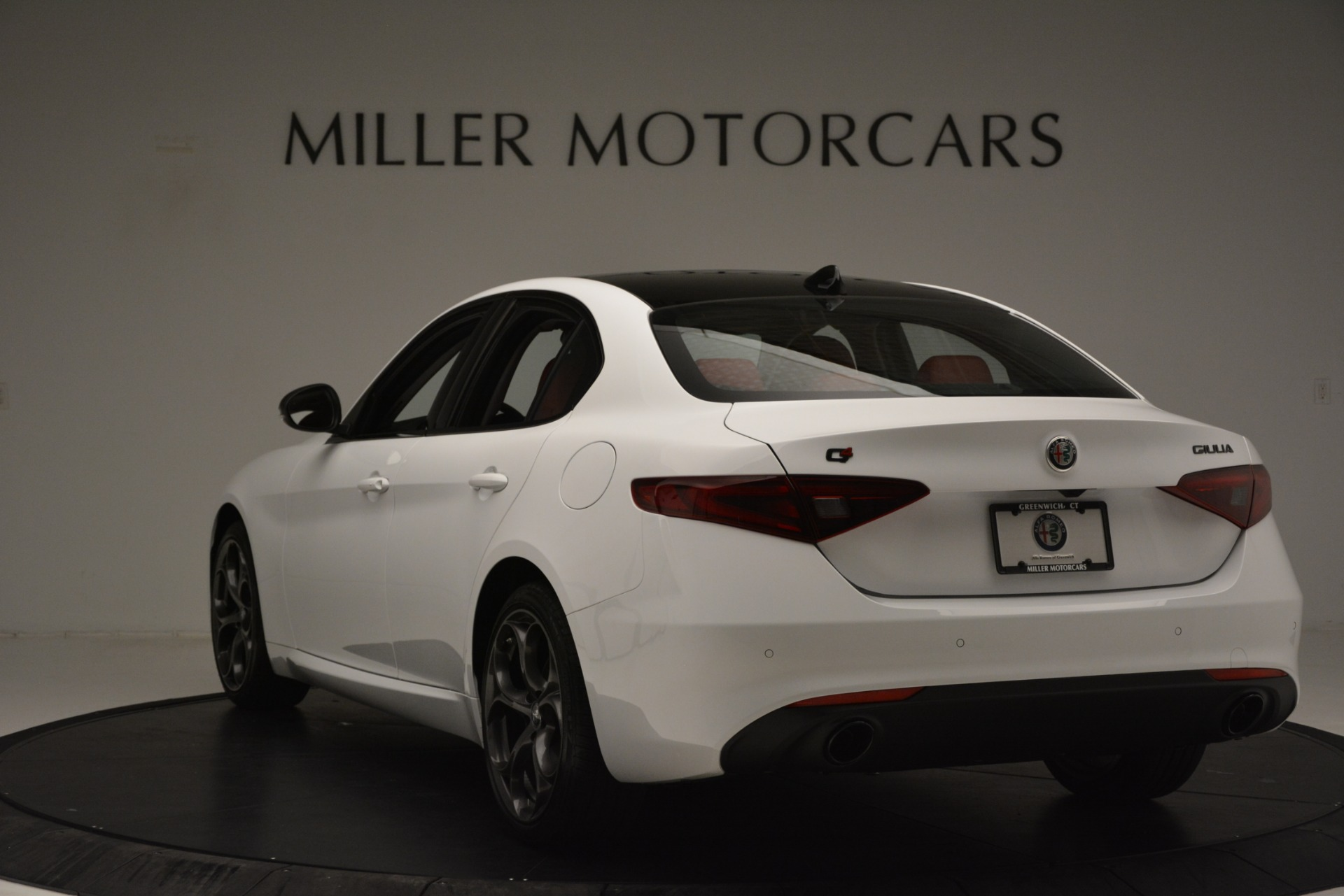 New 2019 Alfa Romeo Giulia Q4 For Sale In Westport, CT 3279_p5