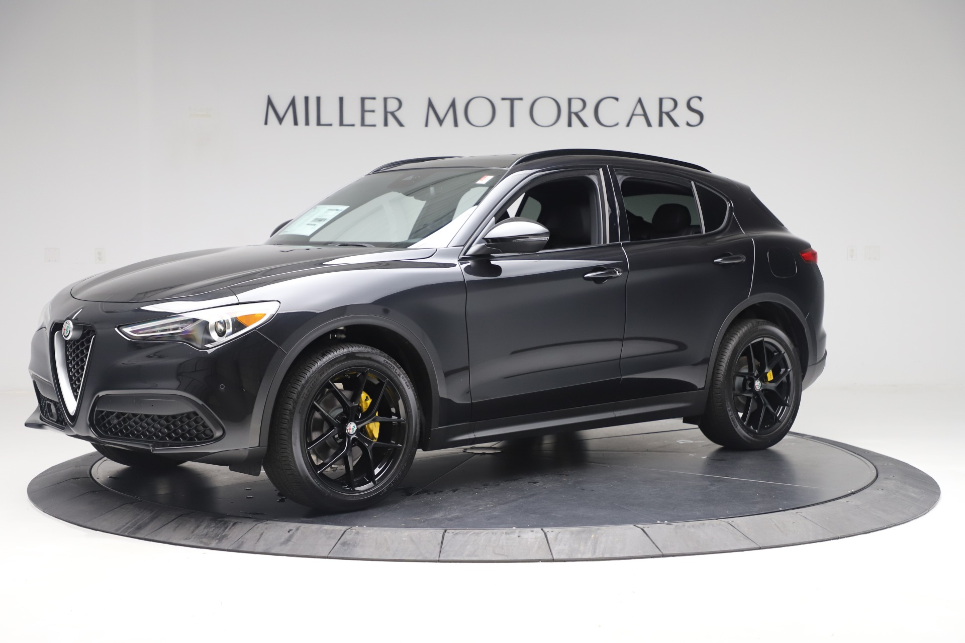 New 2019 Alfa Romeo Stelvio Ti Sport Q4 For Sale In Westport, CT 3283_p2