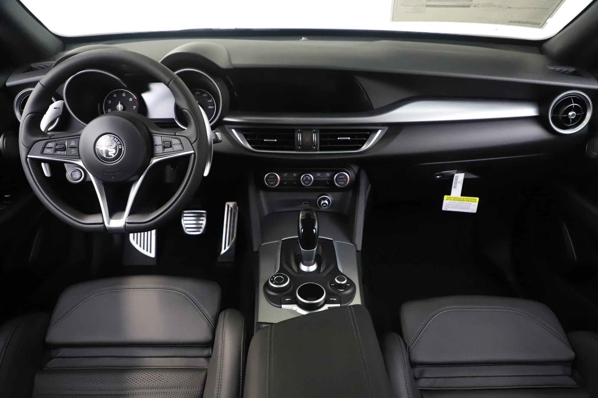 New 2019 Alfa Romeo Stelvio Ti Sport Q4 For Sale In Westport, CT 3284_p14