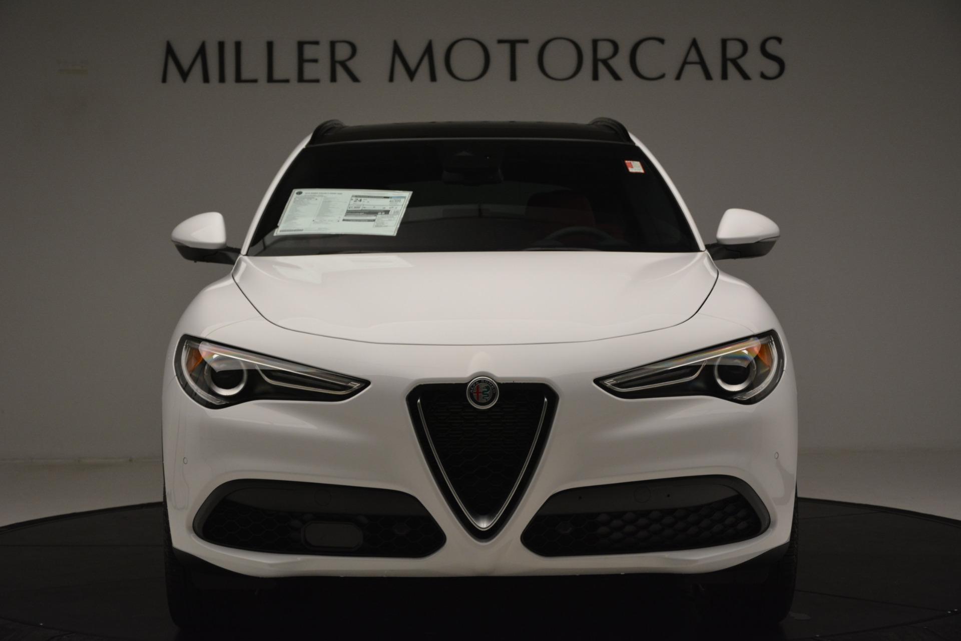 New 2019 Alfa Romeo Stelvio Ti Sport Q4 For Sale In Westport, CT 3285_p12