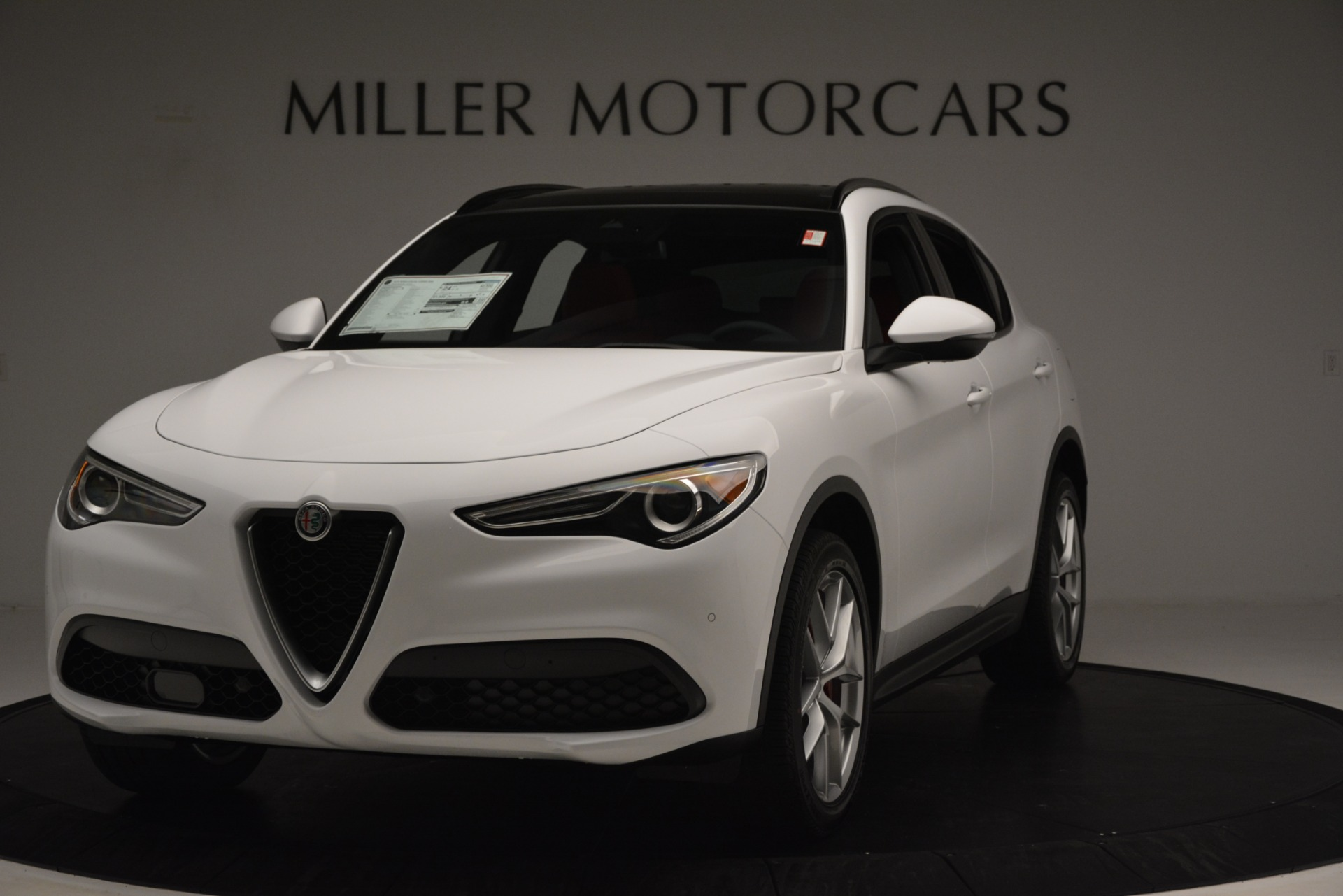 New 2019 Alfa Romeo Stelvio Ti Sport Q4 For Sale In Westport, CT 3286_main