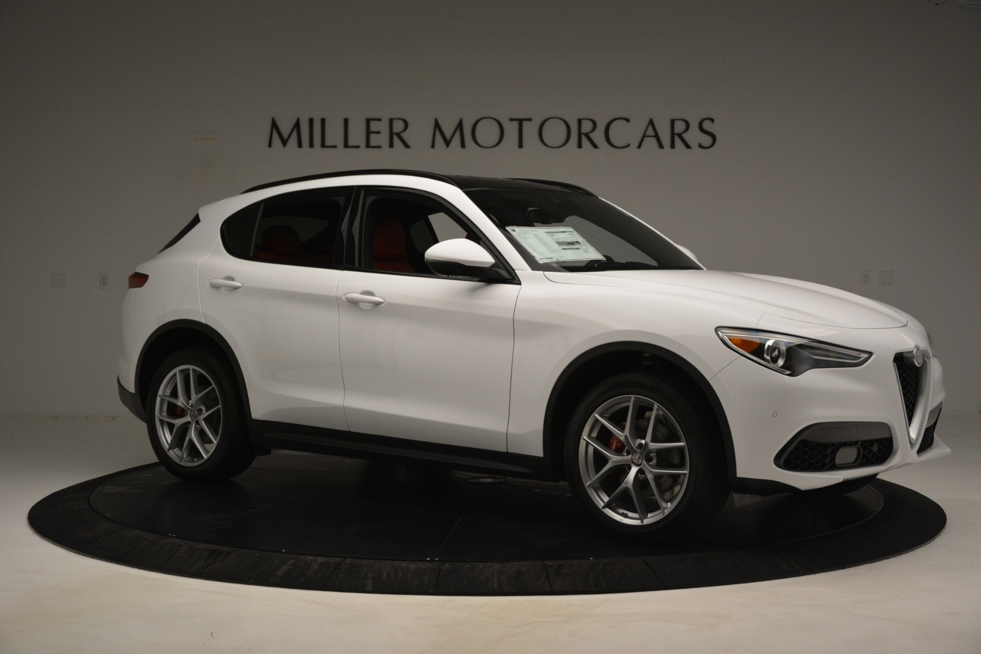 New 2019 Alfa Romeo Stelvio Ti Sport Q4 For Sale In Westport, CT 3286_p10
