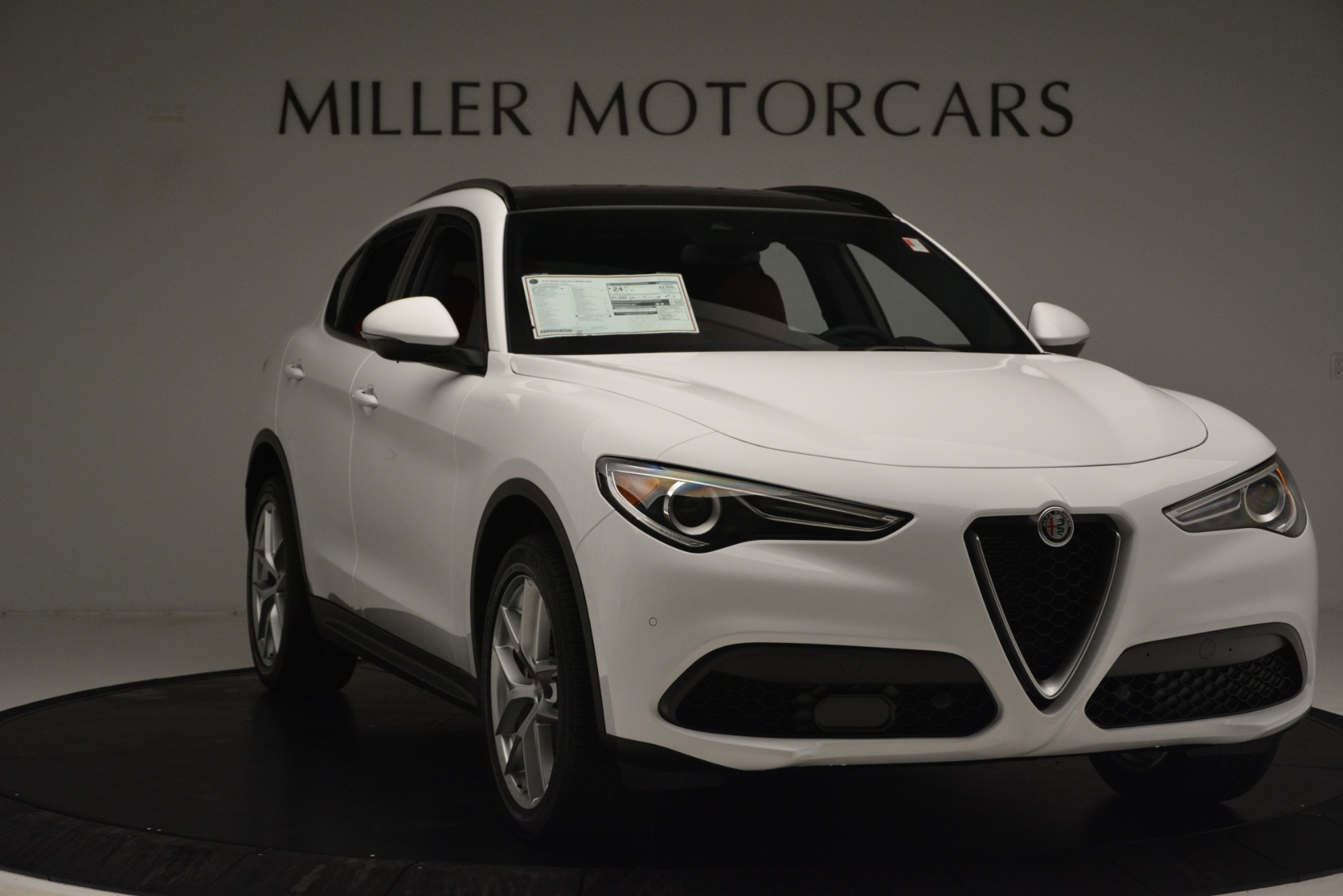 New 2019 Alfa Romeo Stelvio Ti Sport Q4 For Sale In Westport, CT 3286_p11