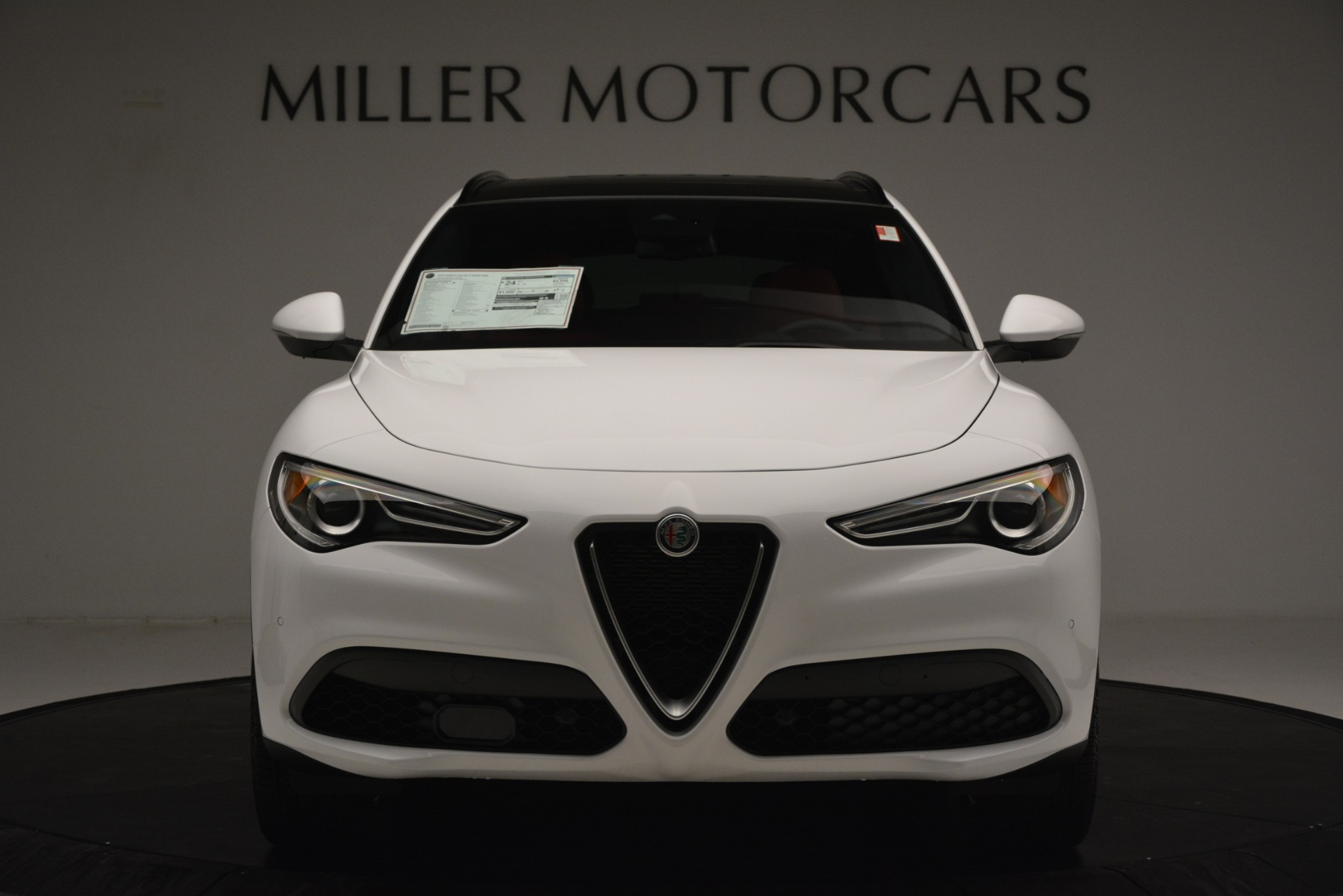 New 2019 Alfa Romeo Stelvio Ti Sport Q4 For Sale In Westport, CT 3286_p12