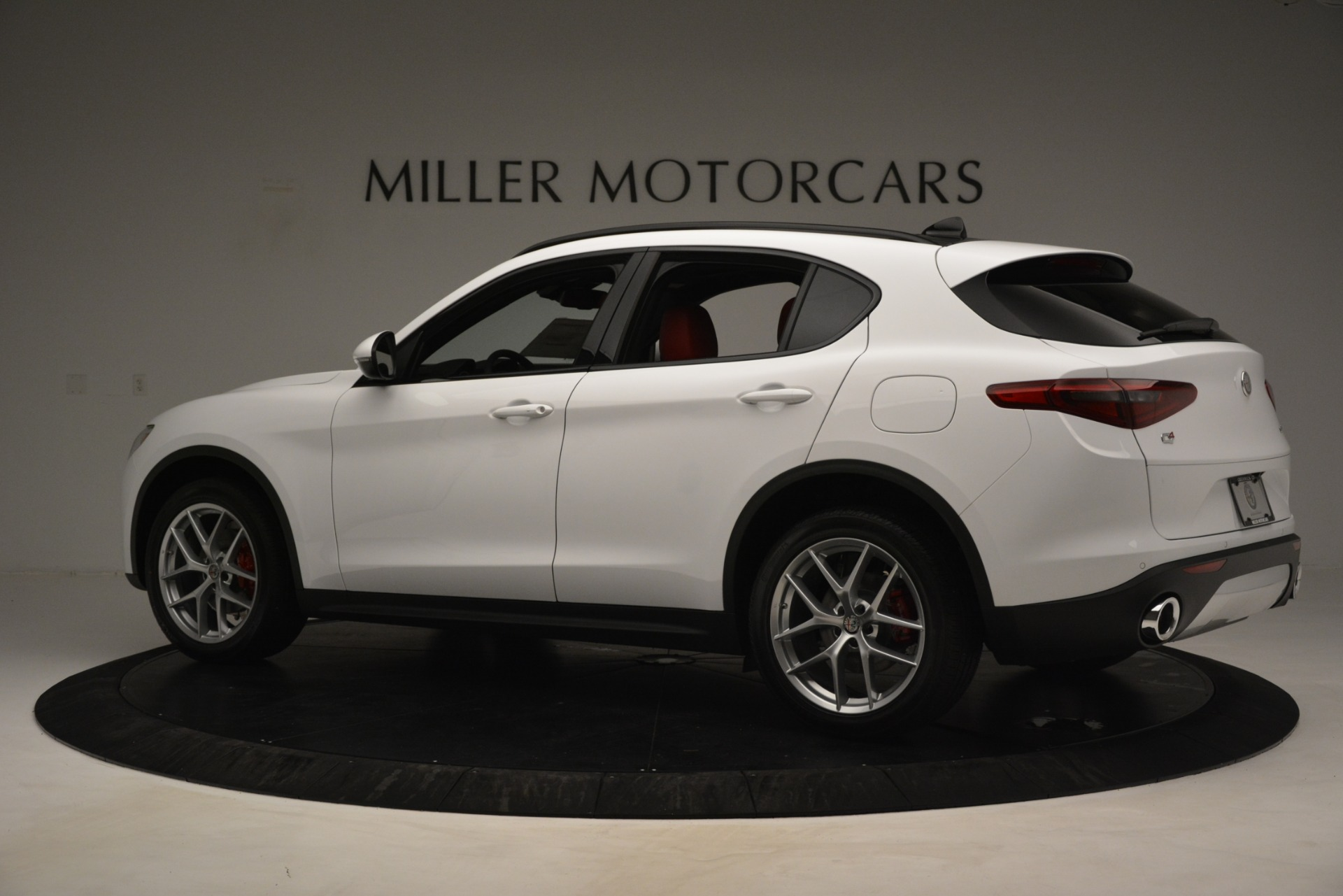 New 2019 Alfa Romeo Stelvio Ti Sport Q4 For Sale In Westport, CT 3286_p4