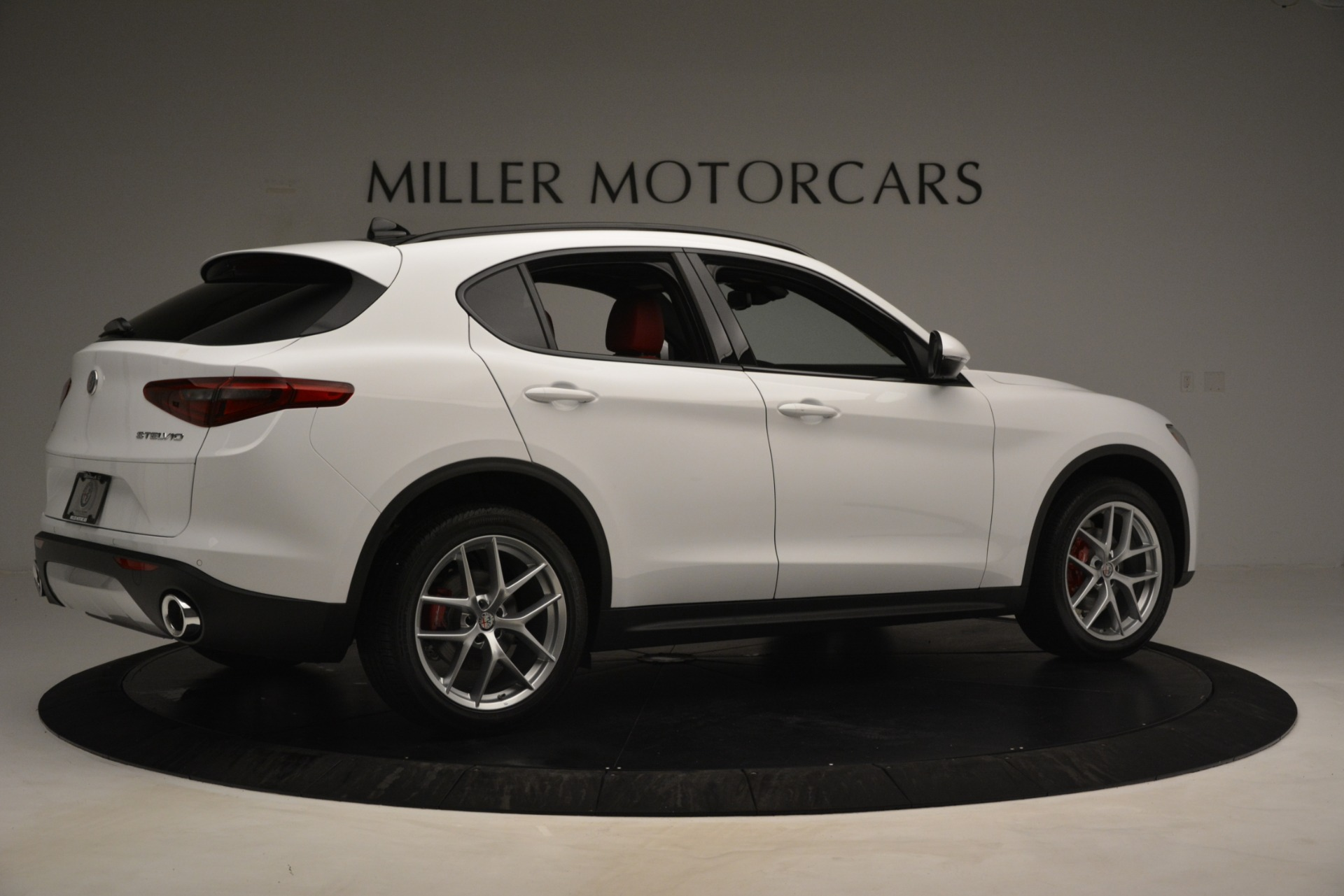 New 2019 Alfa Romeo Stelvio Ti Sport Q4 For Sale In Westport, CT 3286_p8