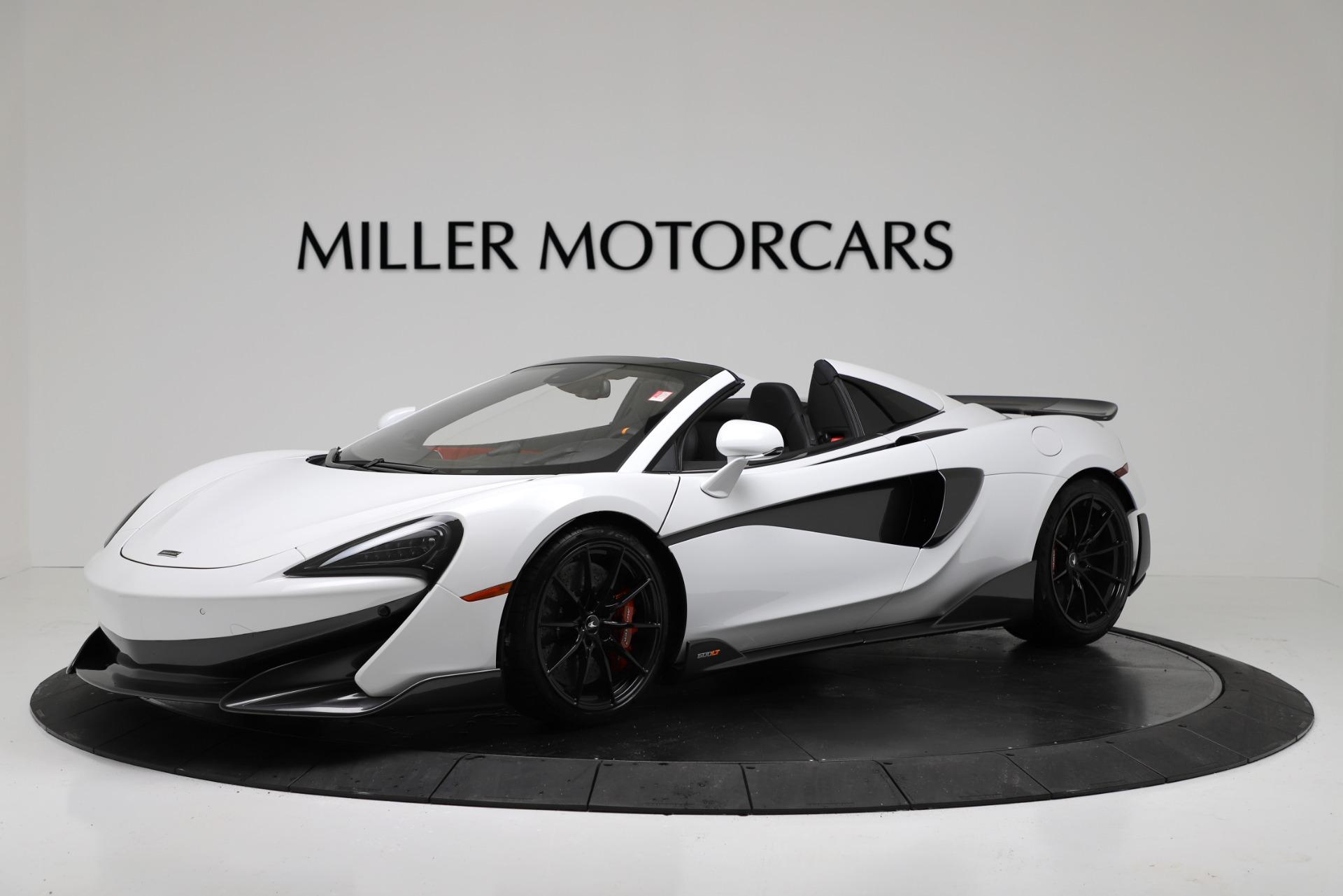New 2020 McLaren 600LT Convertible For Sale In Westport, CT 3314_main