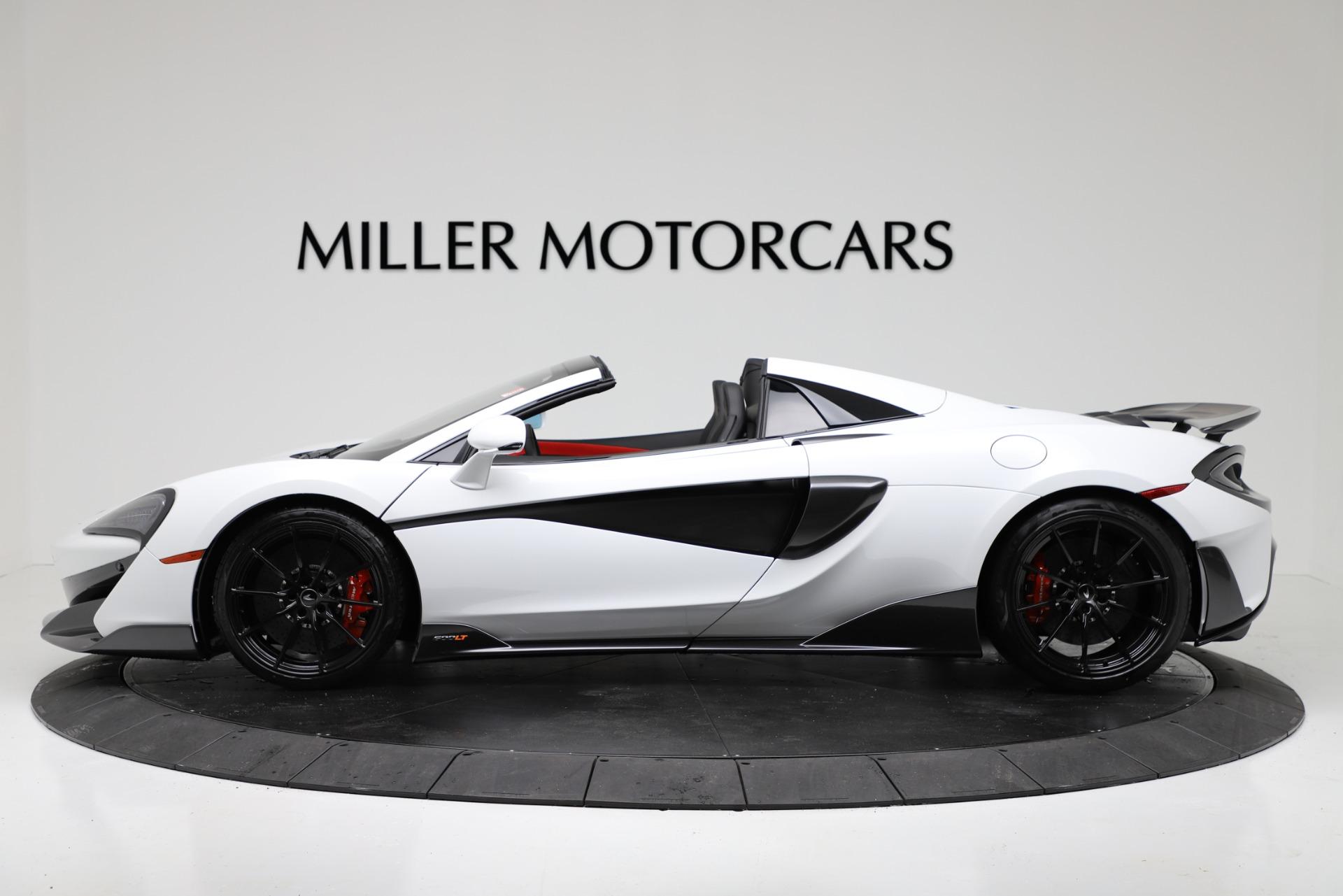 New 2020 McLaren 600LT Convertible For Sale In Westport, CT 3314_p3