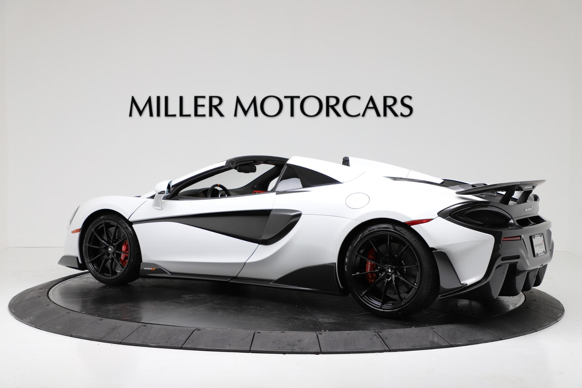New 2020 McLaren 600LT Convertible For Sale In Westport, CT 3314_p4