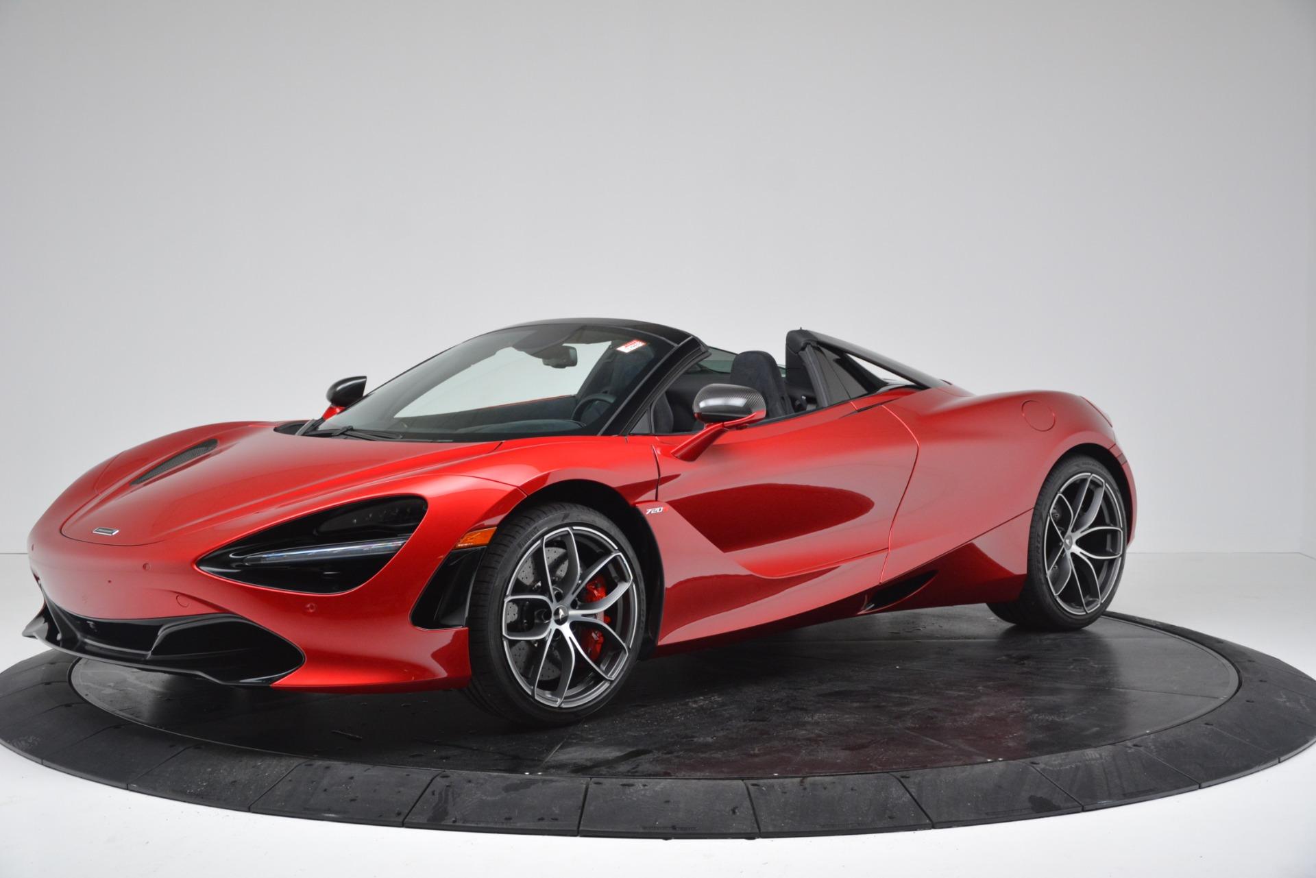 New 2020 McLaren 720S SPIDER Convertible For Sale In Westport, CT 3320_main