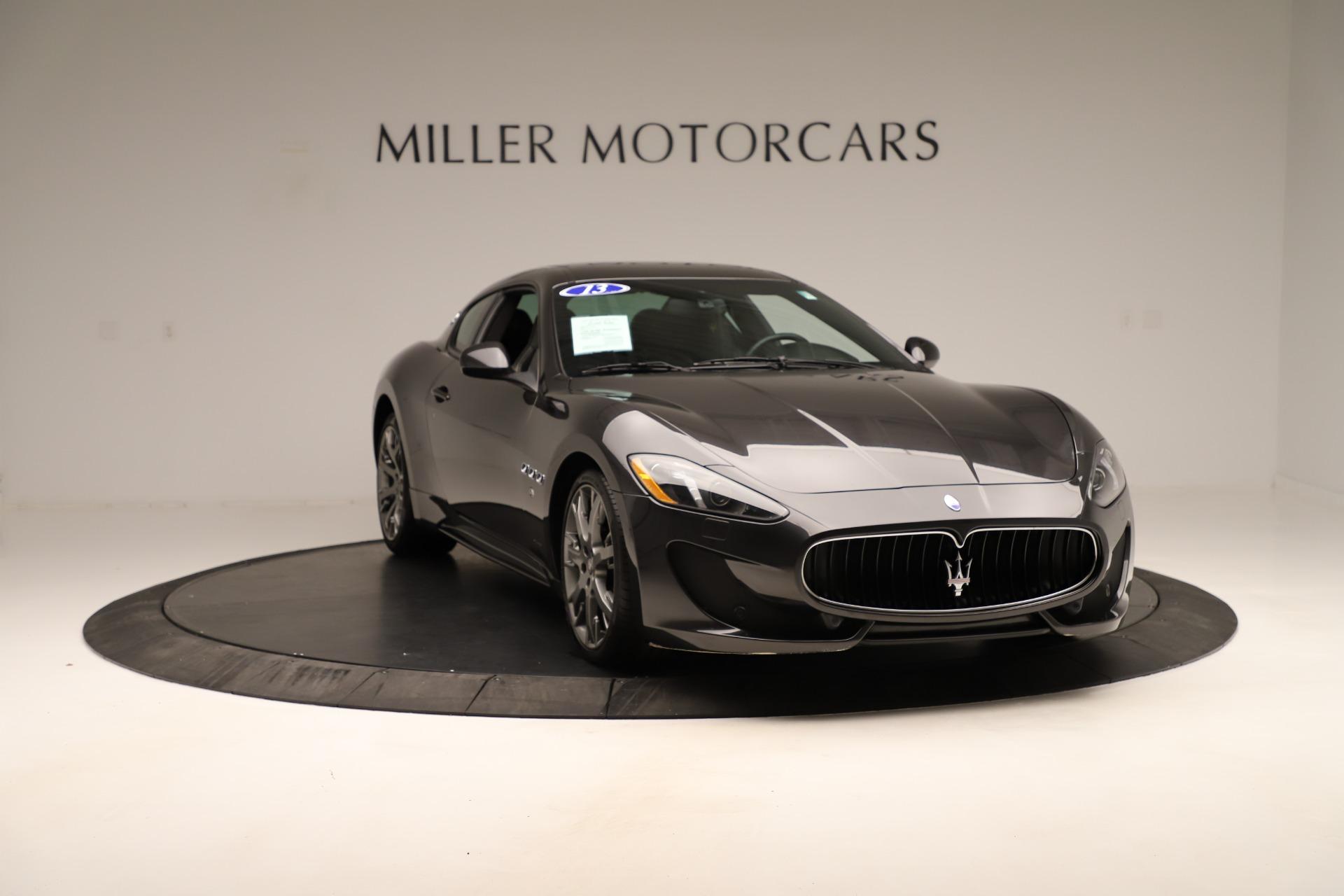 Used 2013 Maserati GranTurismo Sport For Sale In Westport, CT 3327_p11