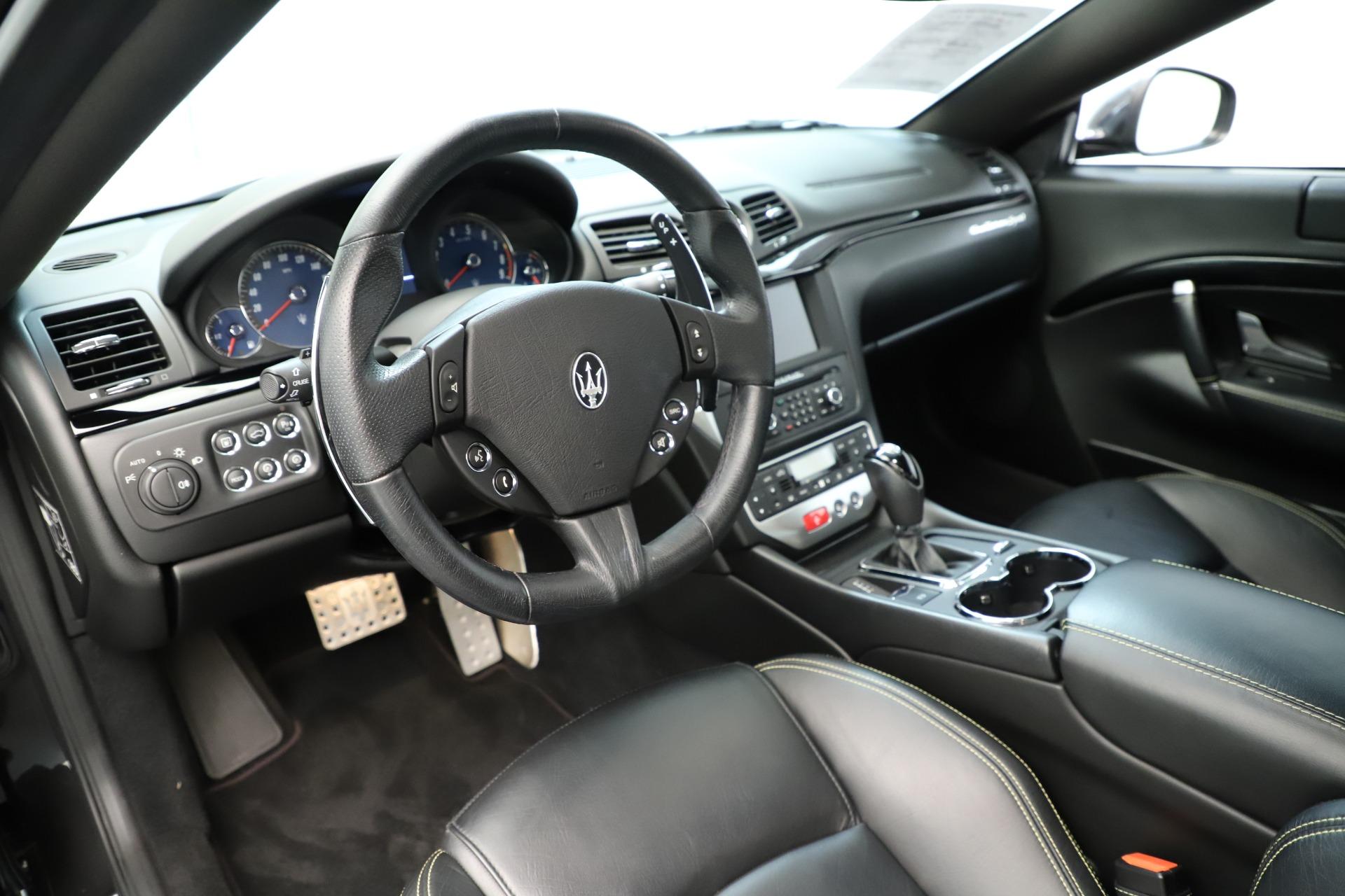Used 2013 Maserati GranTurismo Sport For Sale In Westport, CT 3327_p13