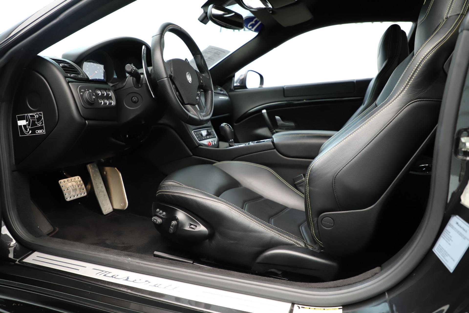 Used 2013 Maserati GranTurismo Sport For Sale In Westport, CT 3327_p14