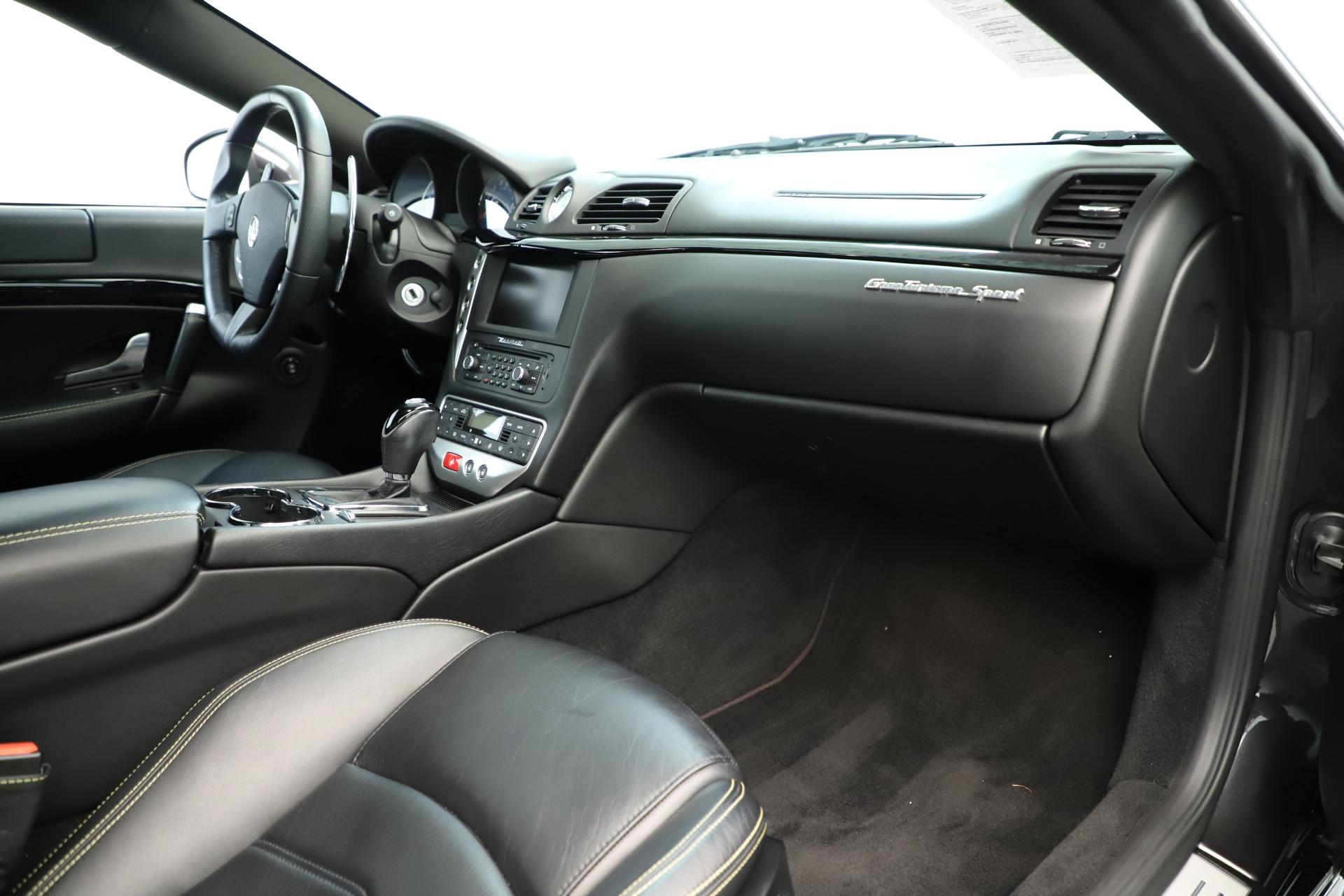 Used 2013 Maserati GranTurismo Sport For Sale In Westport, CT 3327_p19