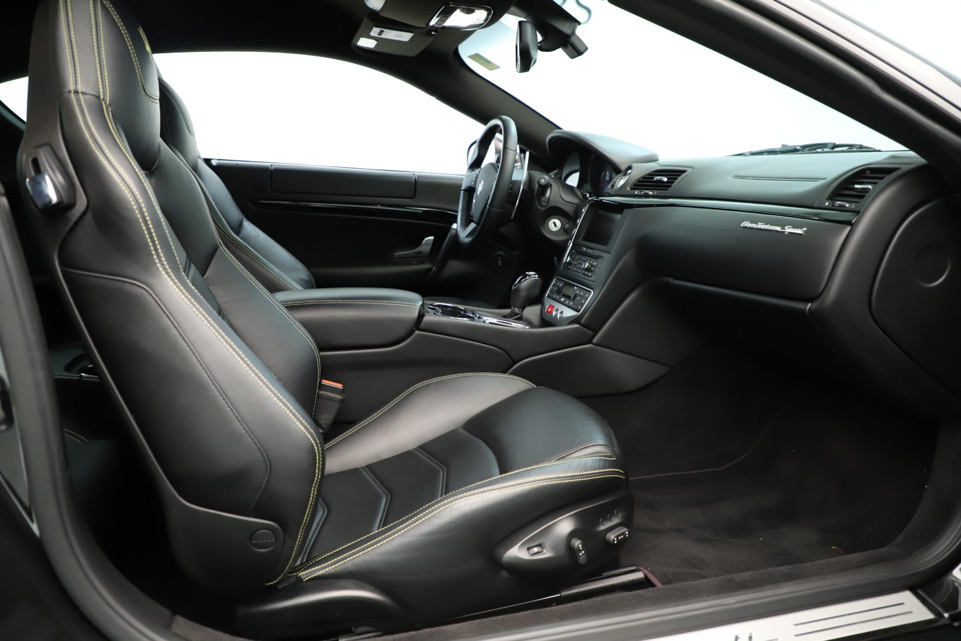 Used 2013 Maserati GranTurismo Sport For Sale In Westport, CT 3327_p20