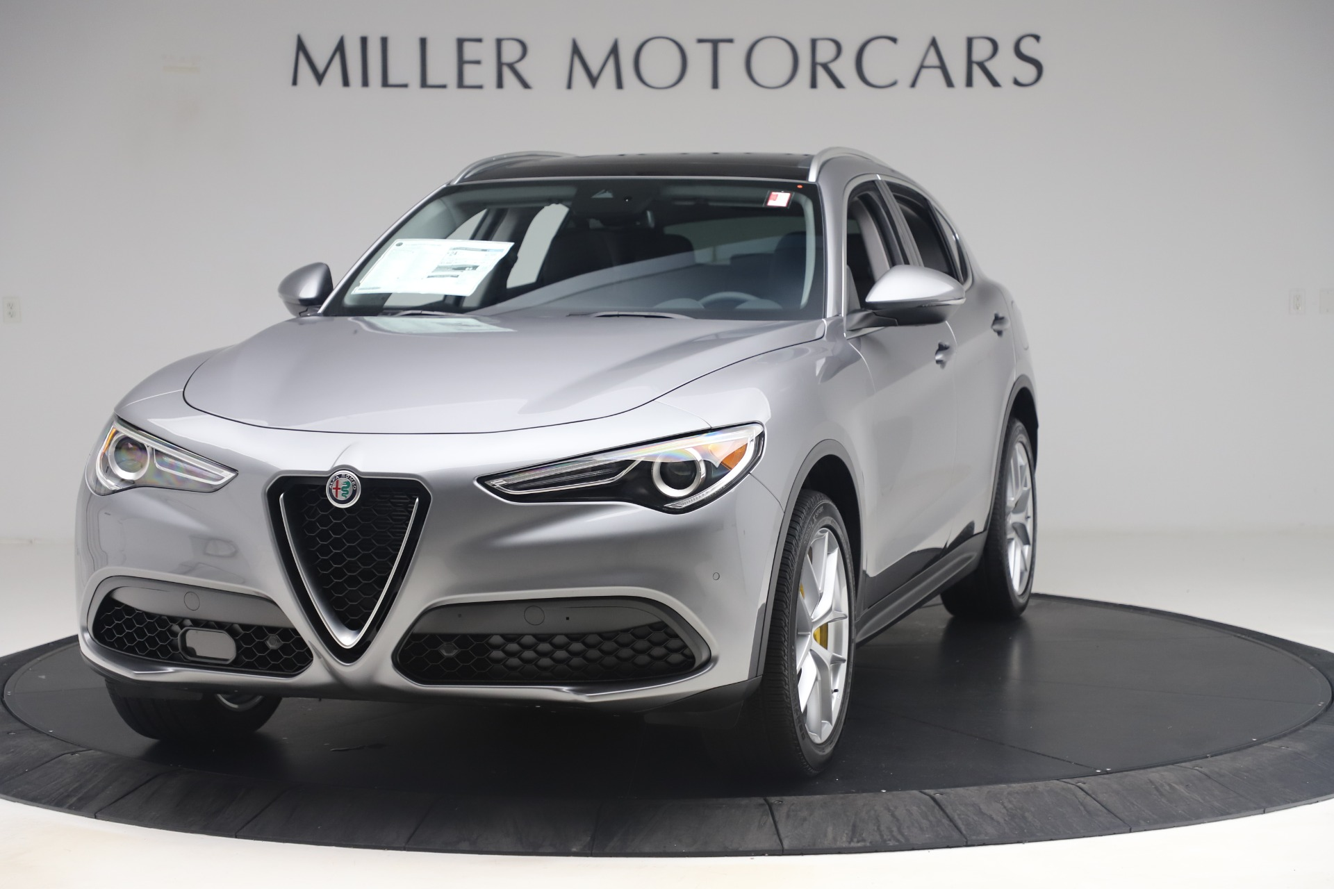 New 2019 Alfa Romeo Stelvio Ti Lusso Q4 For Sale In Westport, CT 3333_main