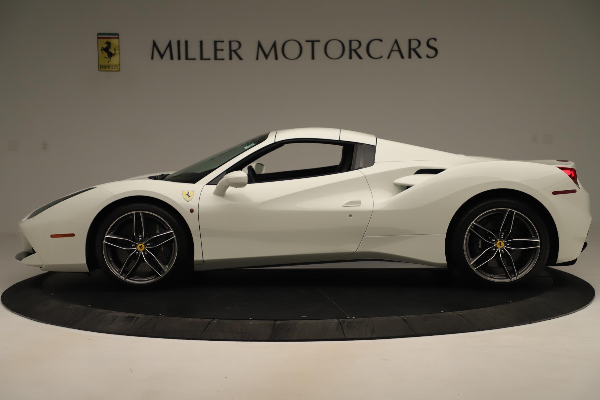 Used 2016 Ferrari 488 Spider  For Sale In Westport, CT 3375_p14