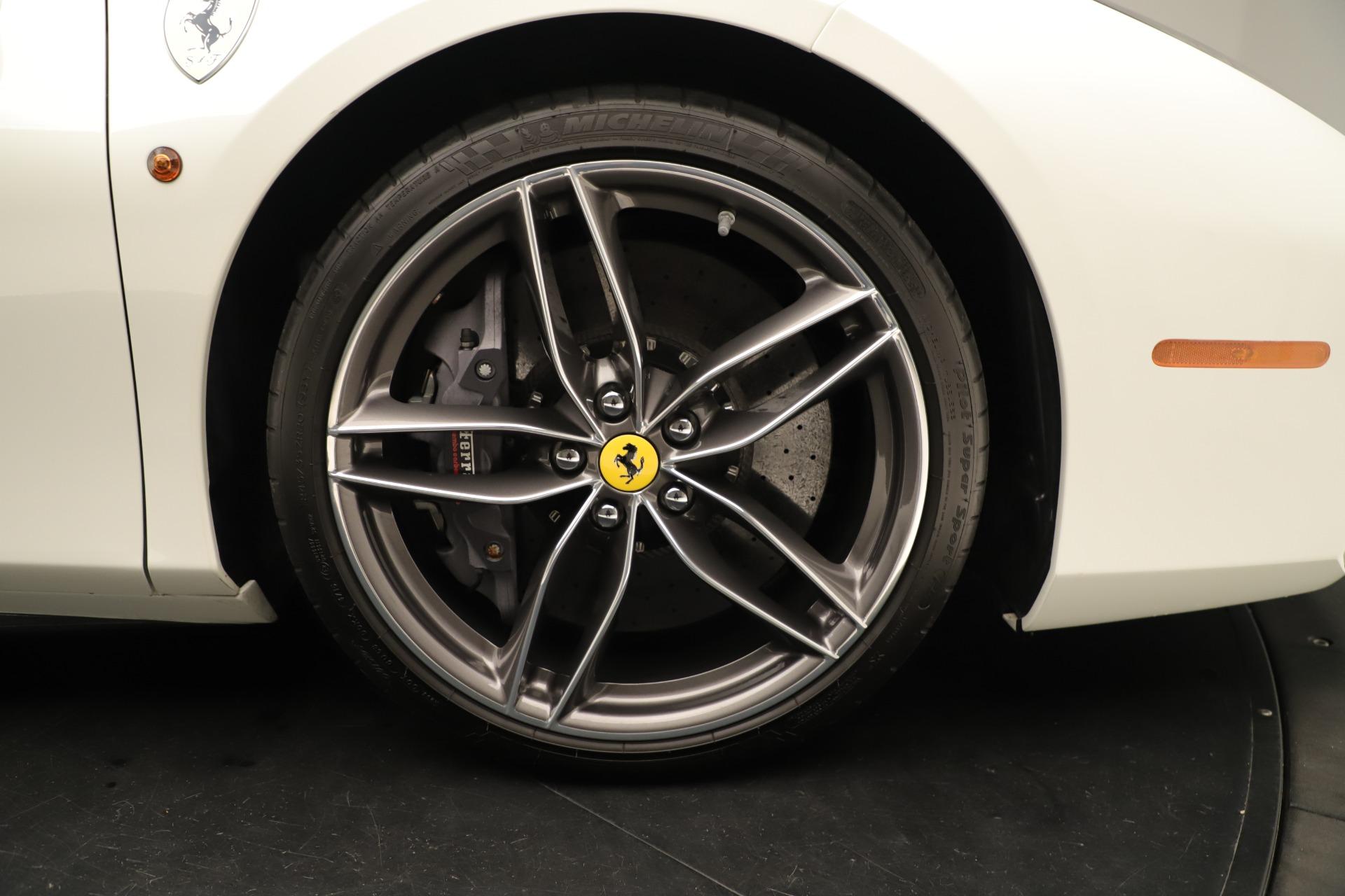 Used 2016 Ferrari 488 Spider  For Sale In Westport, CT 3375_p19