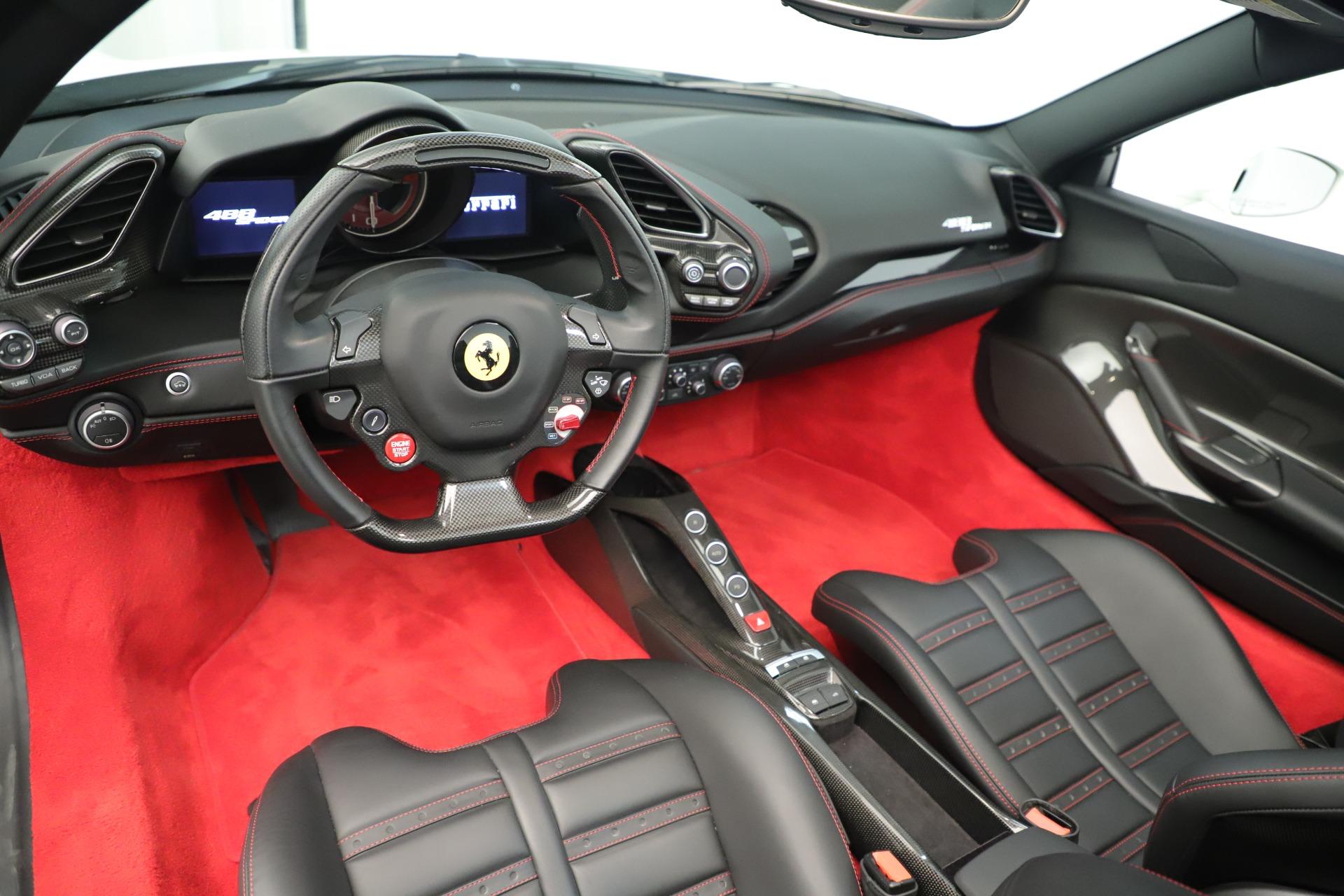 Used 2016 Ferrari 488 Spider  For Sale In Westport, CT 3375_p20
