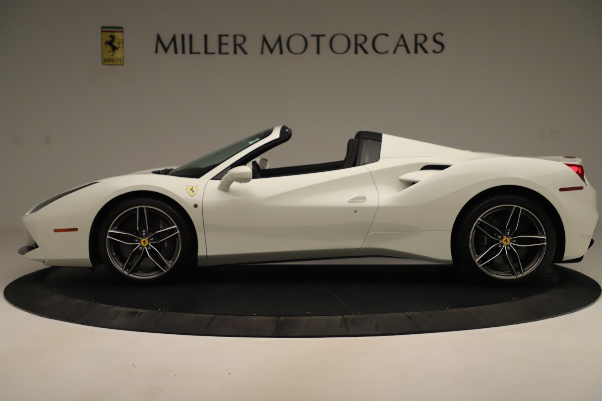Used 2016 Ferrari 488 Spider  For Sale In Westport, CT 3375_p3