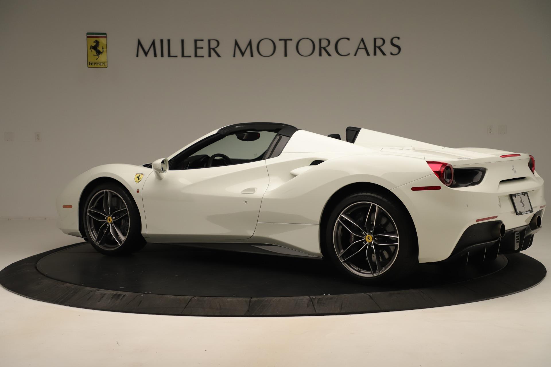 Used 2016 Ferrari 488 Spider  For Sale In Westport, CT 3375_p4