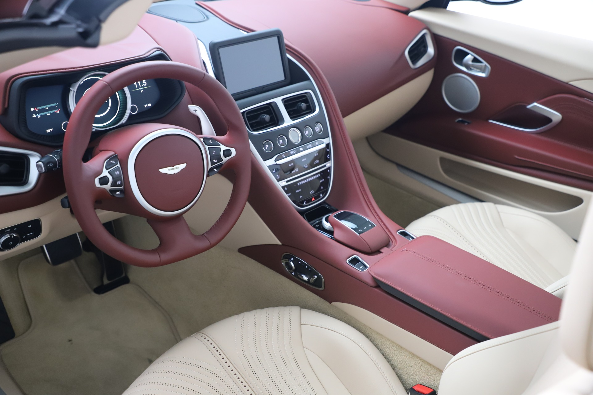 New 2020 Aston Martin DB11 Volante Convertible For Sale In Westport, CT 3380_p20