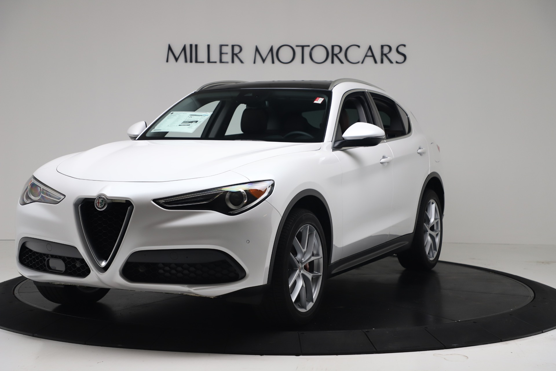 New 2019 Alfa Romeo Stelvio Ti Lusso Q4 For Sale In Westport, CT 3397_main