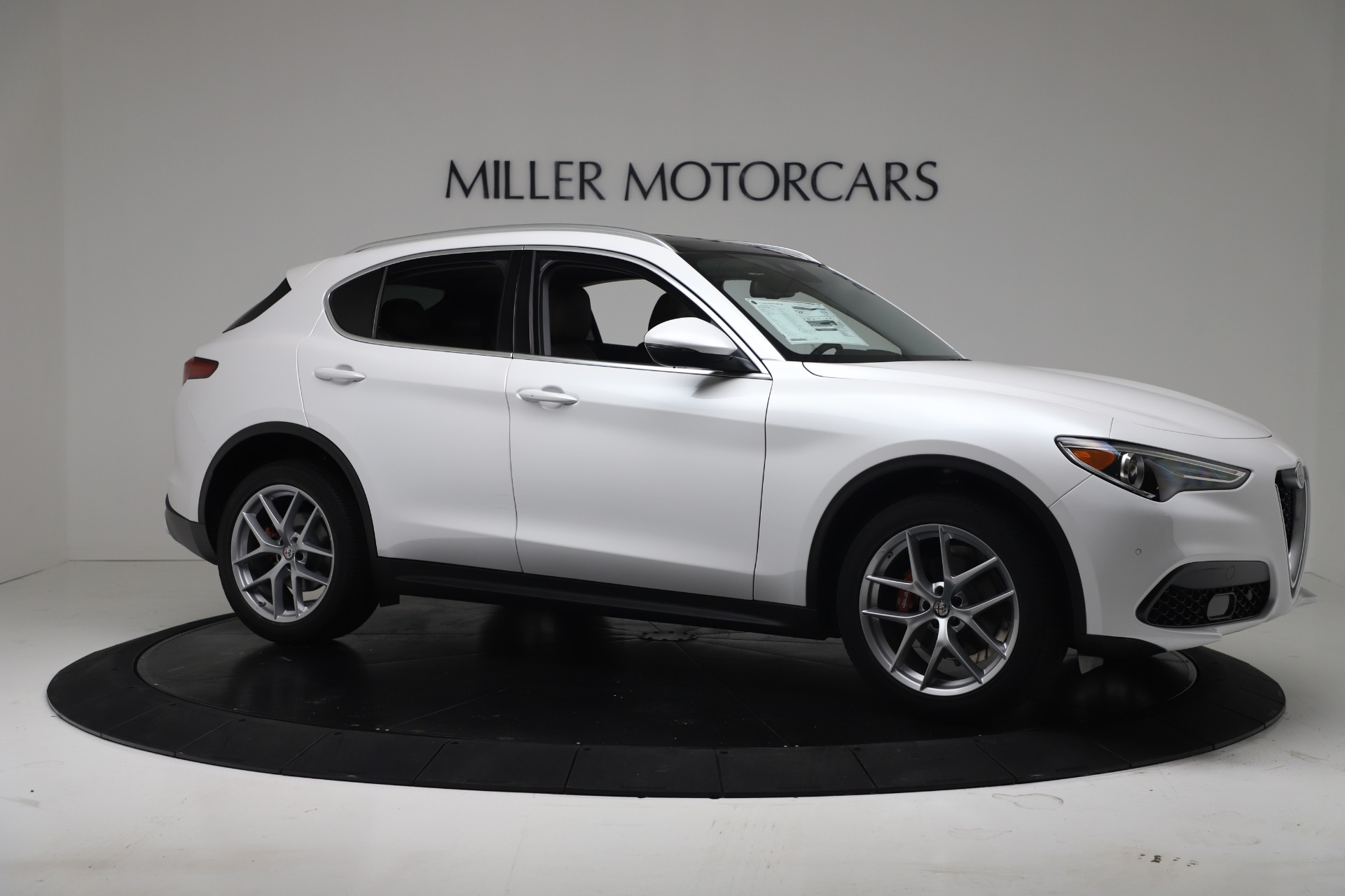 New 2019 Alfa Romeo Stelvio Ti Lusso Q4 For Sale In Westport, CT 3397_p10