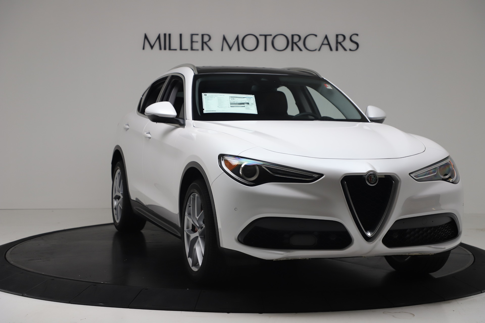 New 2019 Alfa Romeo Stelvio Ti Lusso Q4 For Sale In Westport, CT 3397_p11