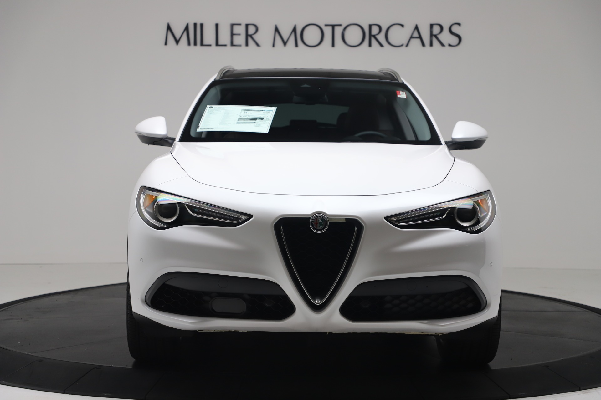 New 2019 Alfa Romeo Stelvio Ti Lusso Q4 For Sale In Westport, CT 3397_p12