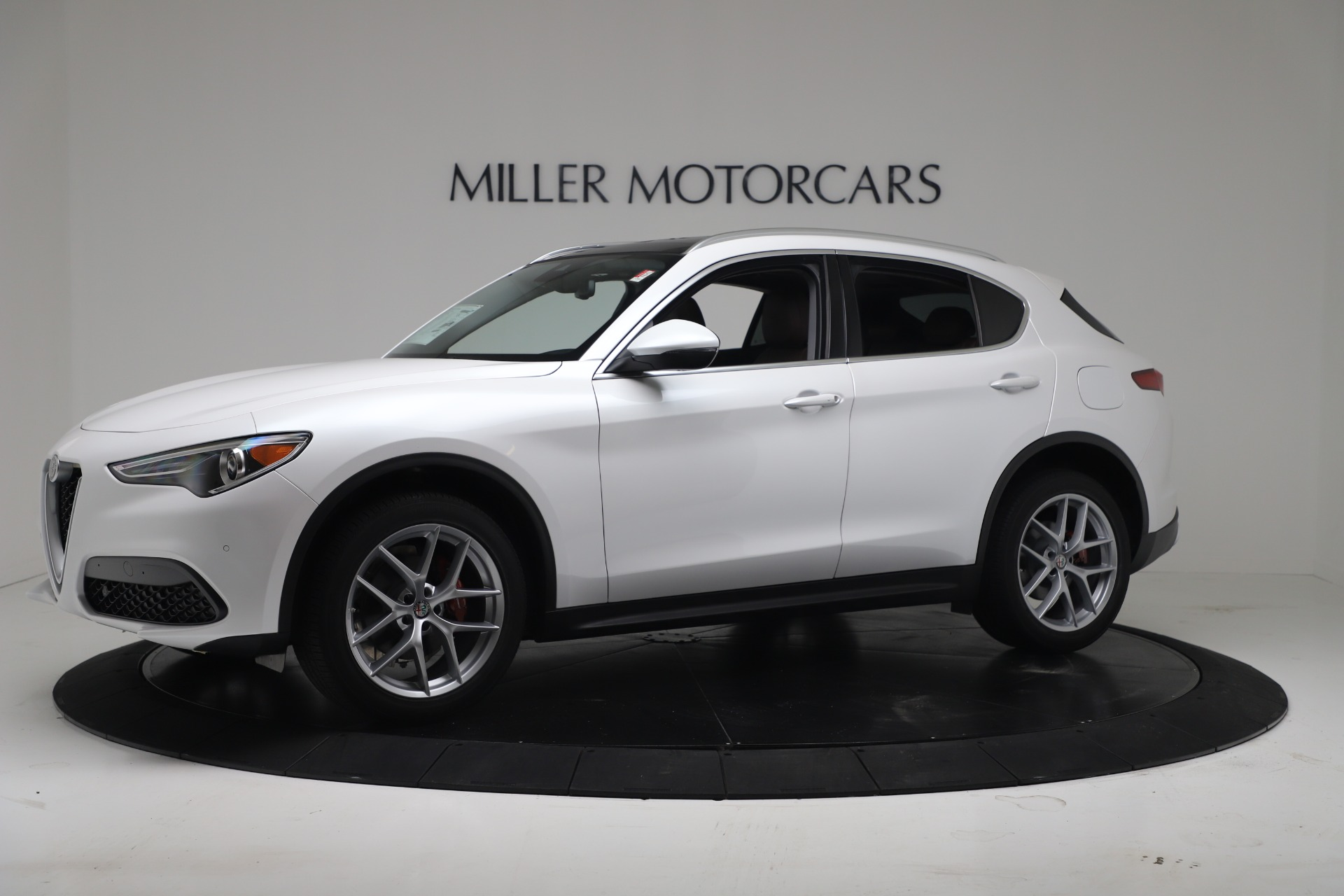 New 2019 Alfa Romeo Stelvio Ti Lusso Q4 For Sale In Westport, CT 3397_p2