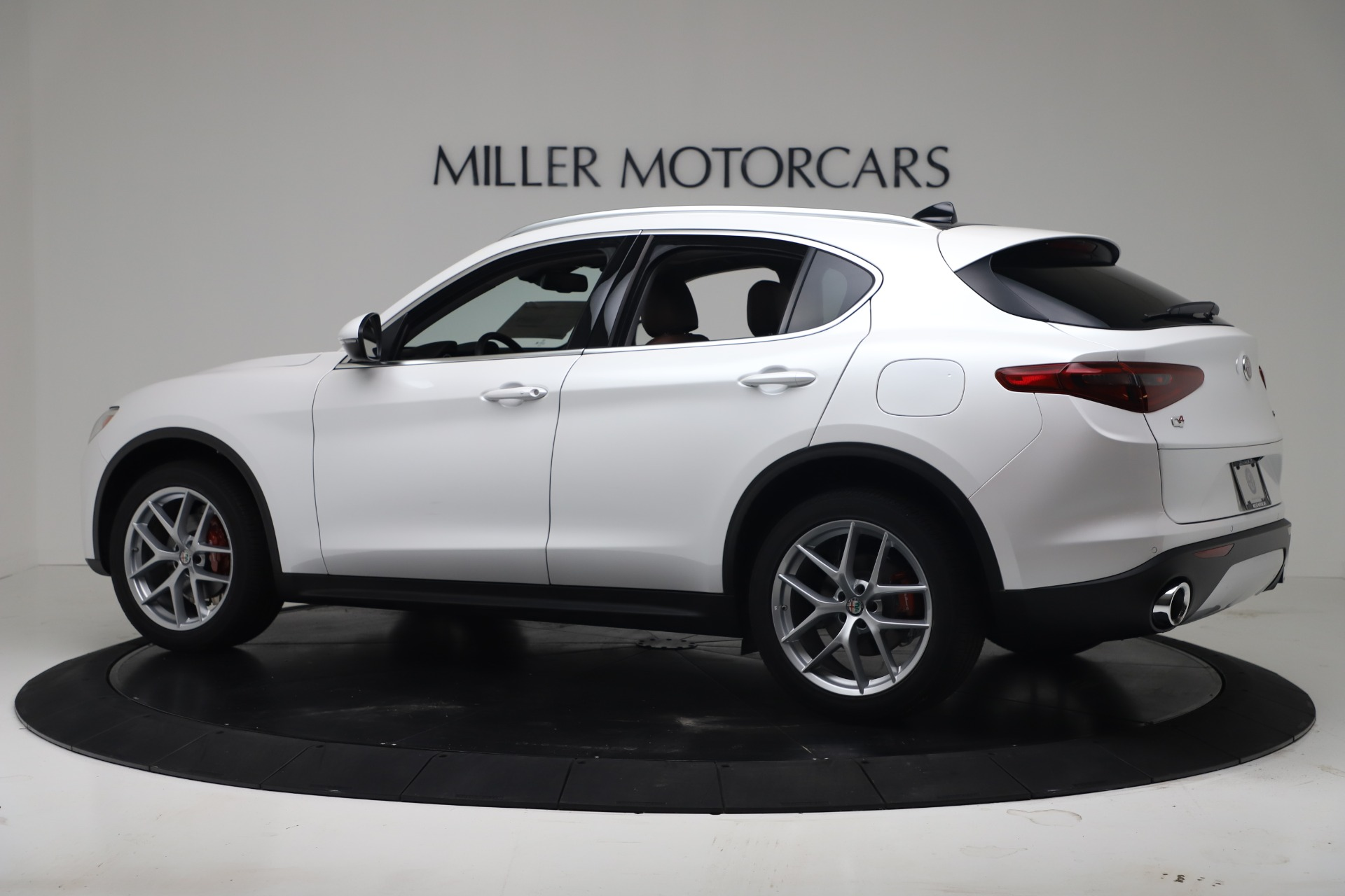 New 2019 Alfa Romeo Stelvio Ti Lusso Q4 For Sale In Westport, CT 3397_p4