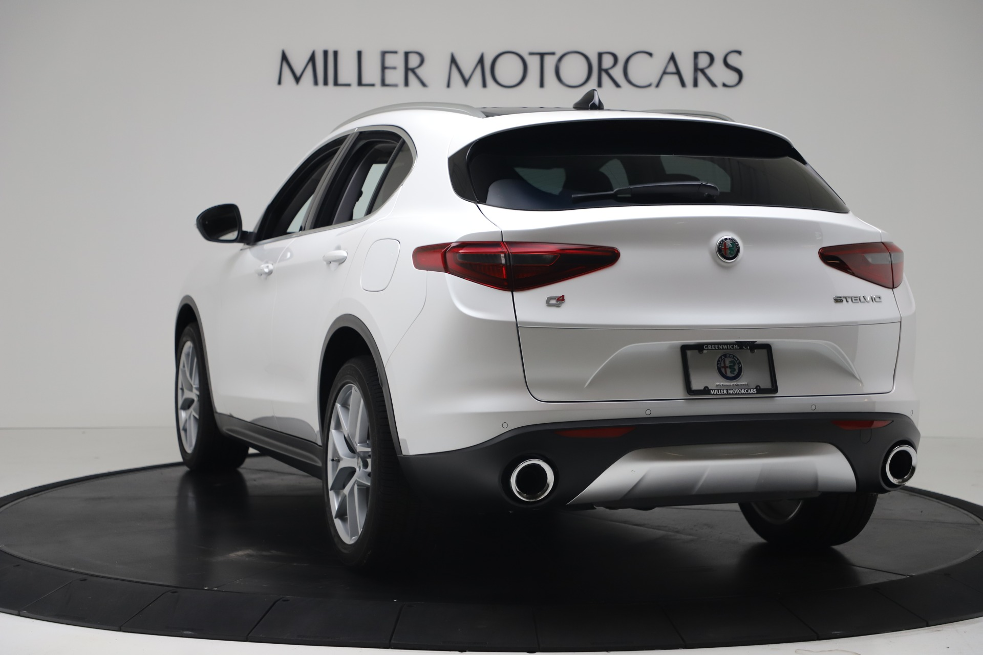 New 2019 Alfa Romeo Stelvio Ti Lusso Q4 For Sale In Westport, CT 3397_p5