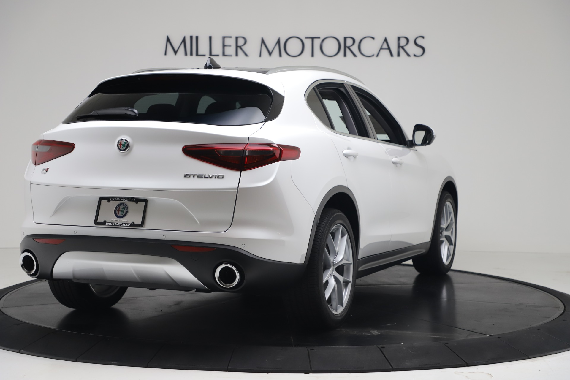 New 2019 Alfa Romeo Stelvio Ti Lusso Q4 For Sale In Westport, CT 3397_p7