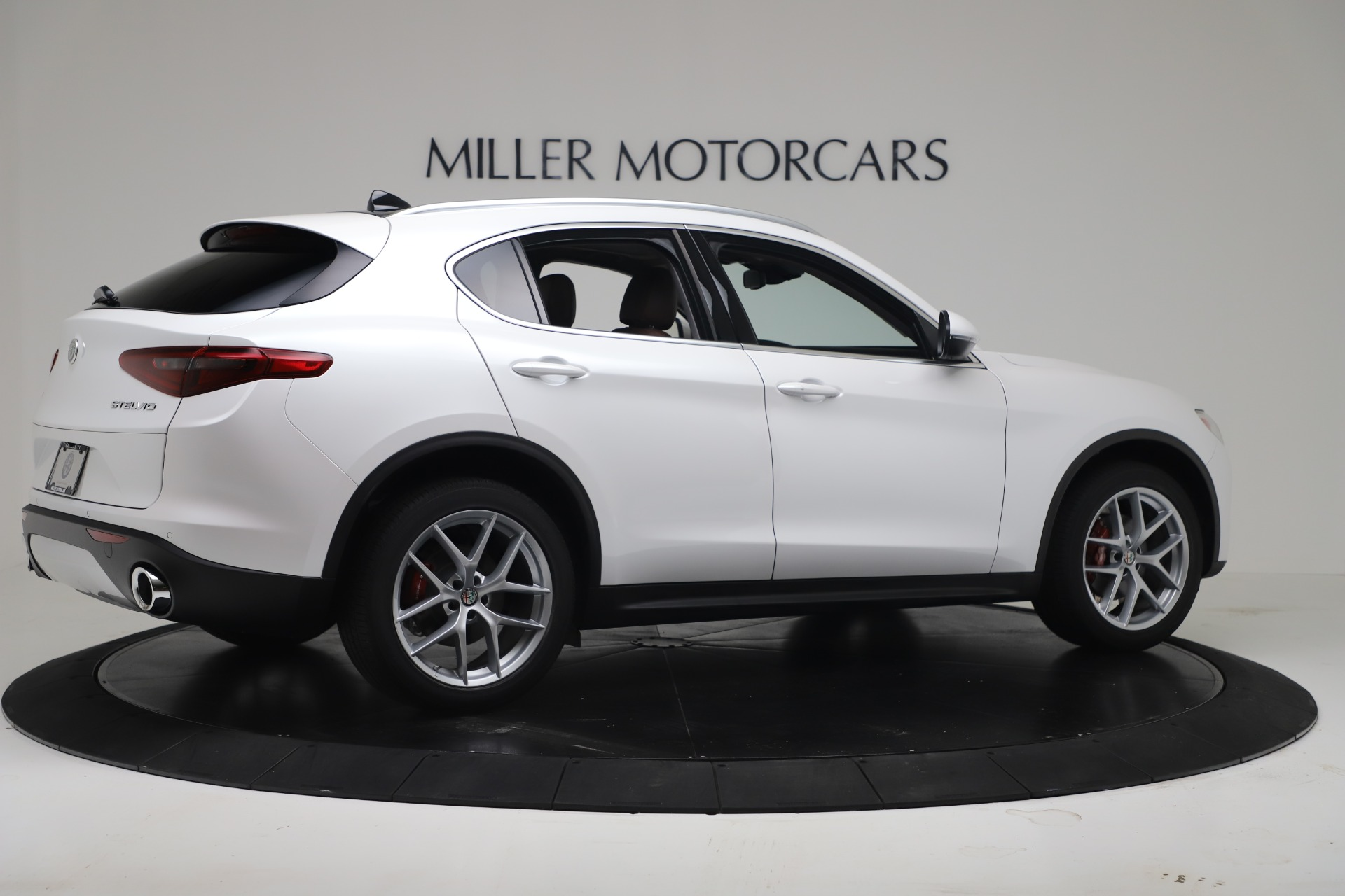 New 2019 Alfa Romeo Stelvio Ti Lusso Q4 For Sale In Westport, CT 3397_p8